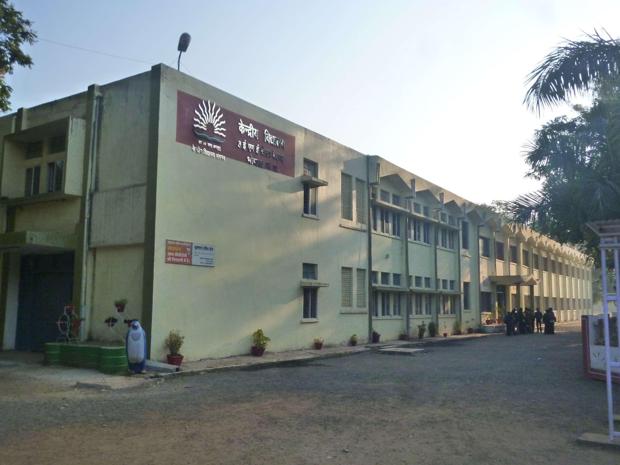 KENDRIYA VIDYALAYA 3 EME CENTRE BAIRAGARH BHOPAL MADHYA PRADESH 1000010