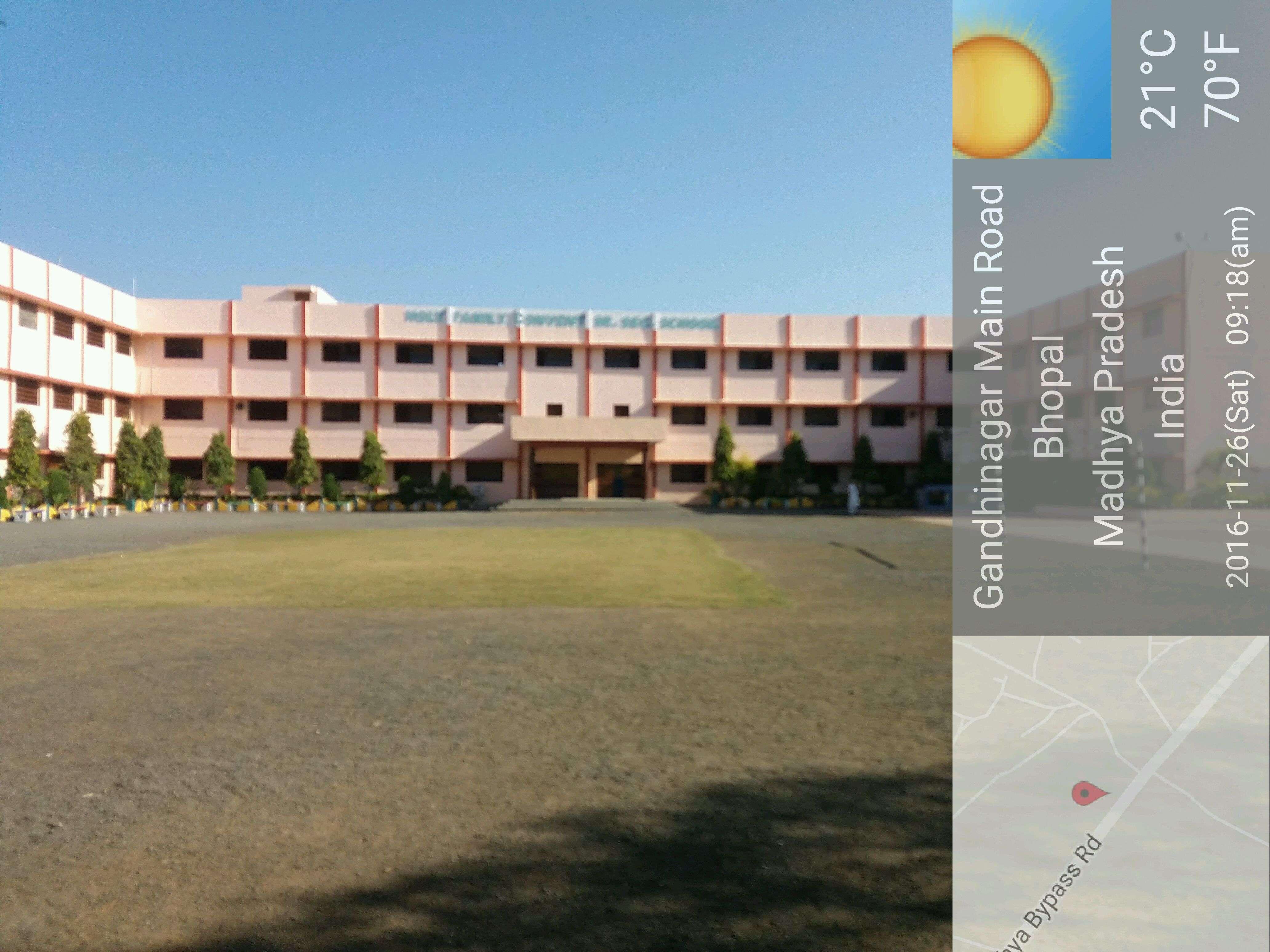 HOLY FAMILY CONVENT SCHOOL SHANTI NAGAR KHURANA P O BHOPAL MADHYA PRADESH 1030103
