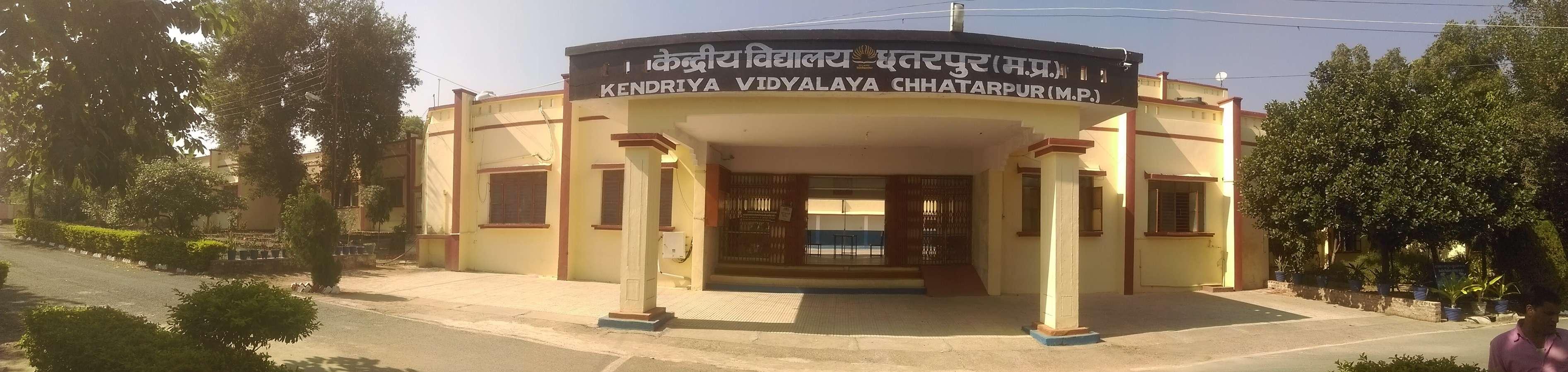 KENDRIYA VIDAYALAYA MAHOBA ROAD OPP RTO OFFICE CHHATARPUR MADHYA PRADESH 1000060