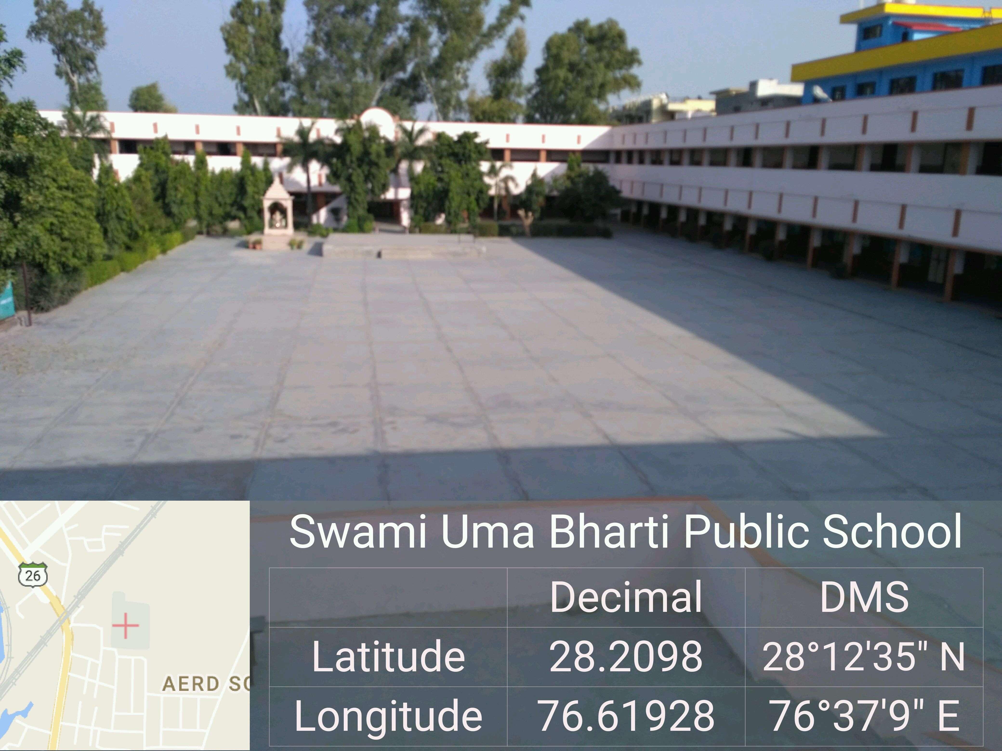 SWAMI UMA BHARTI PUBLIC SCHOOL JHAJJAR ROAD REWARI HARYANA 530019