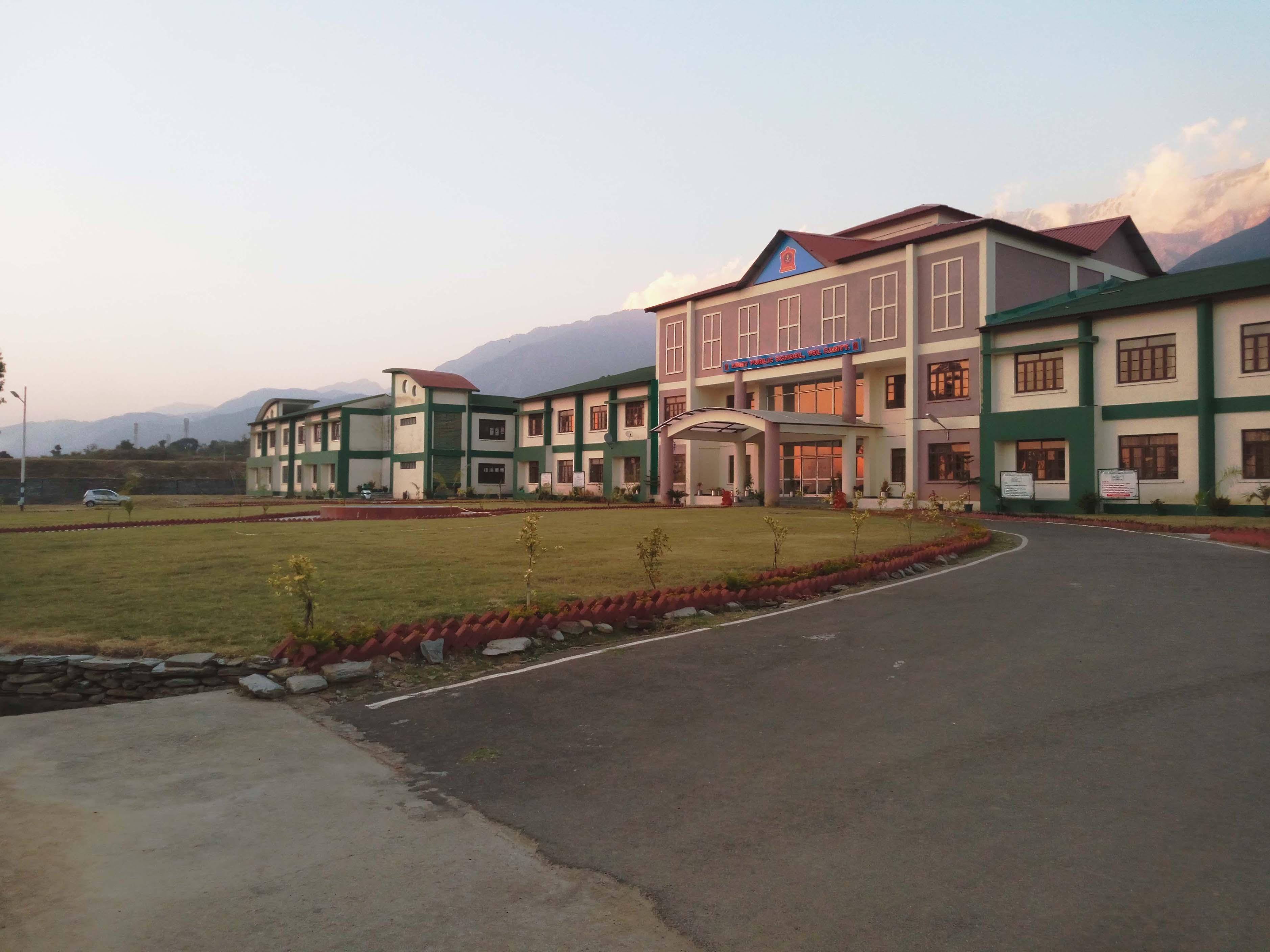 ARMY SCHOOL YOL CANTT DISTT KANGRA HIMACHAL PRADESH 630040