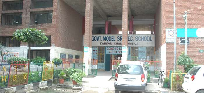 GOVT SR SEC SCHOOL KARSAN RAMDARBAR COLONY PHASE II CHANDIGARH 2620035