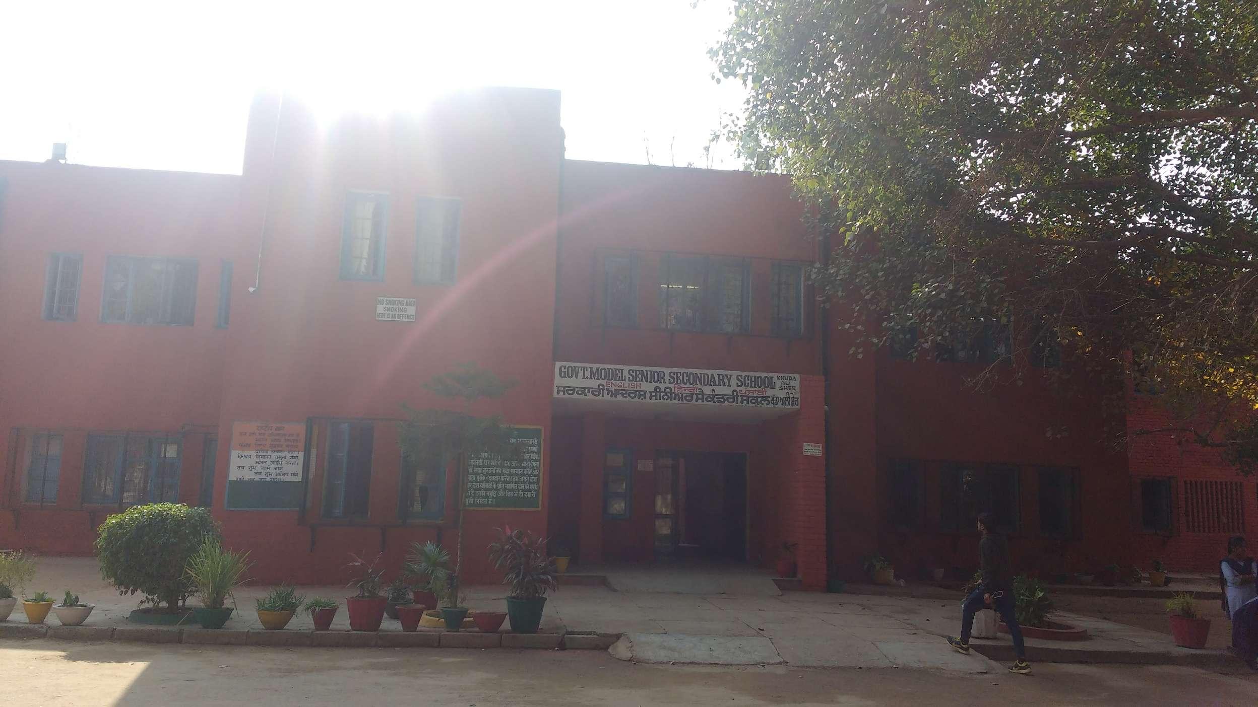 GOVT HIGH SCHOOL VILL KHUDA ALISHER P O NADA CHANDIGARH 2620039
