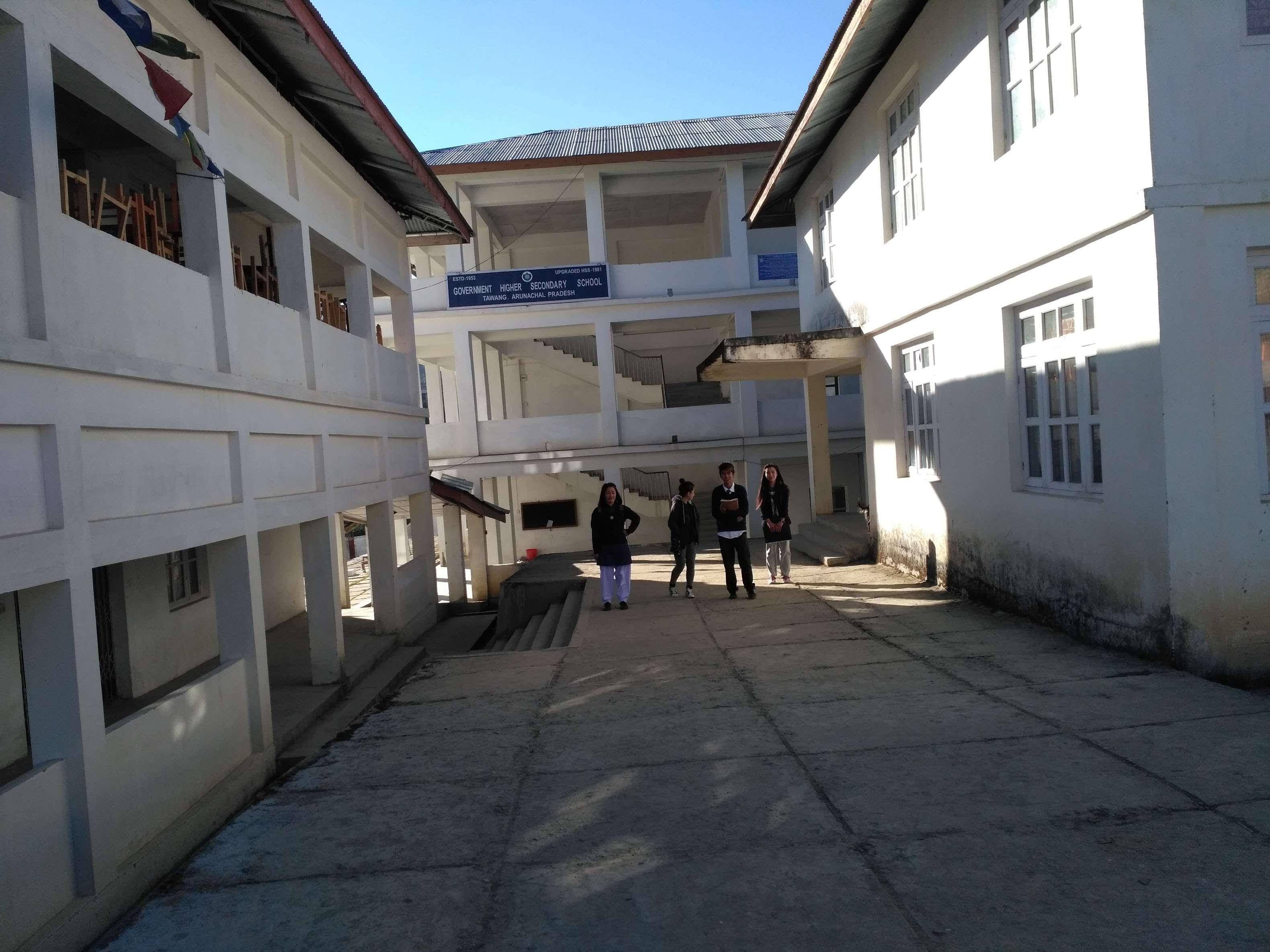 GOVT HR SEC SCHOOL TAWANG DT TAWANG ARUNACHAL PRADESH 2220015