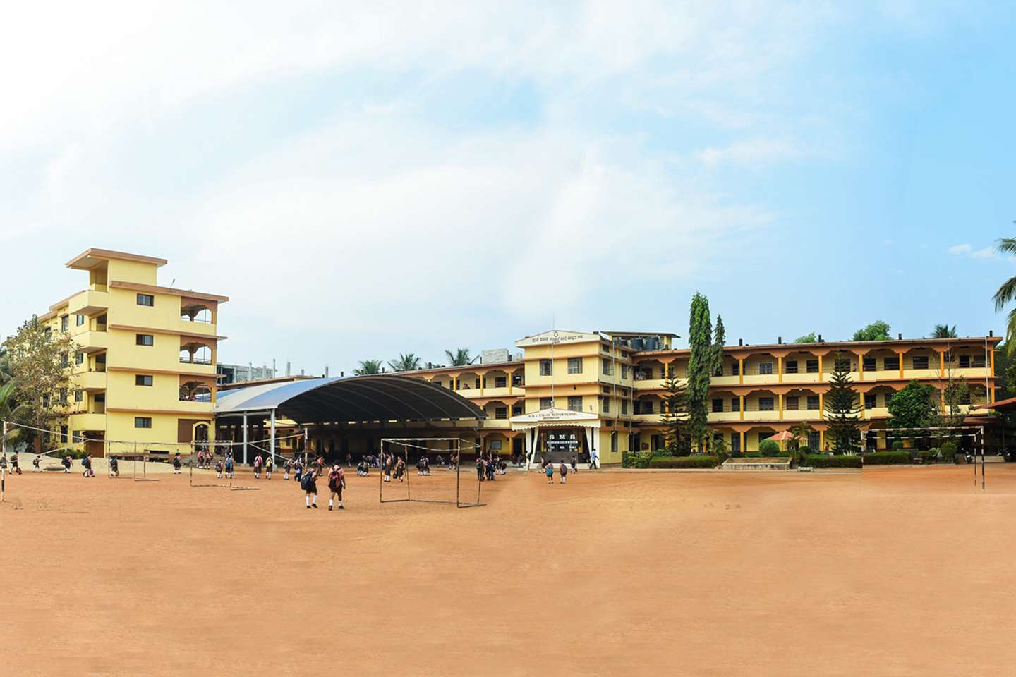 S M S ENGLISH MEDIUM SCHOOL BRAHMAVAR KARNTAKA 830083