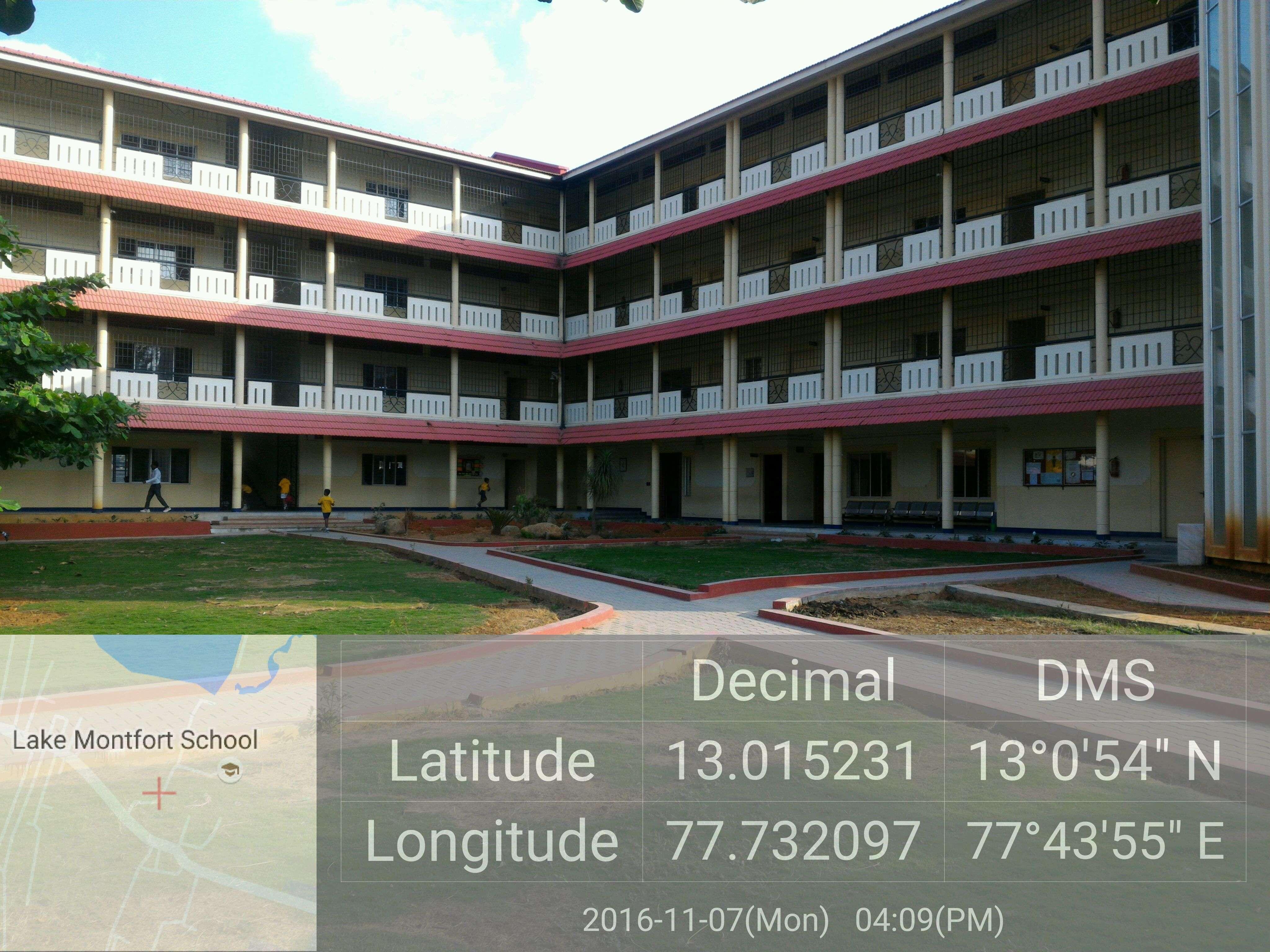 LAKE MONTFORT SCHOOL K S HALLI VIRGONAGAR POST BANGALORE KARNATAKA 830127