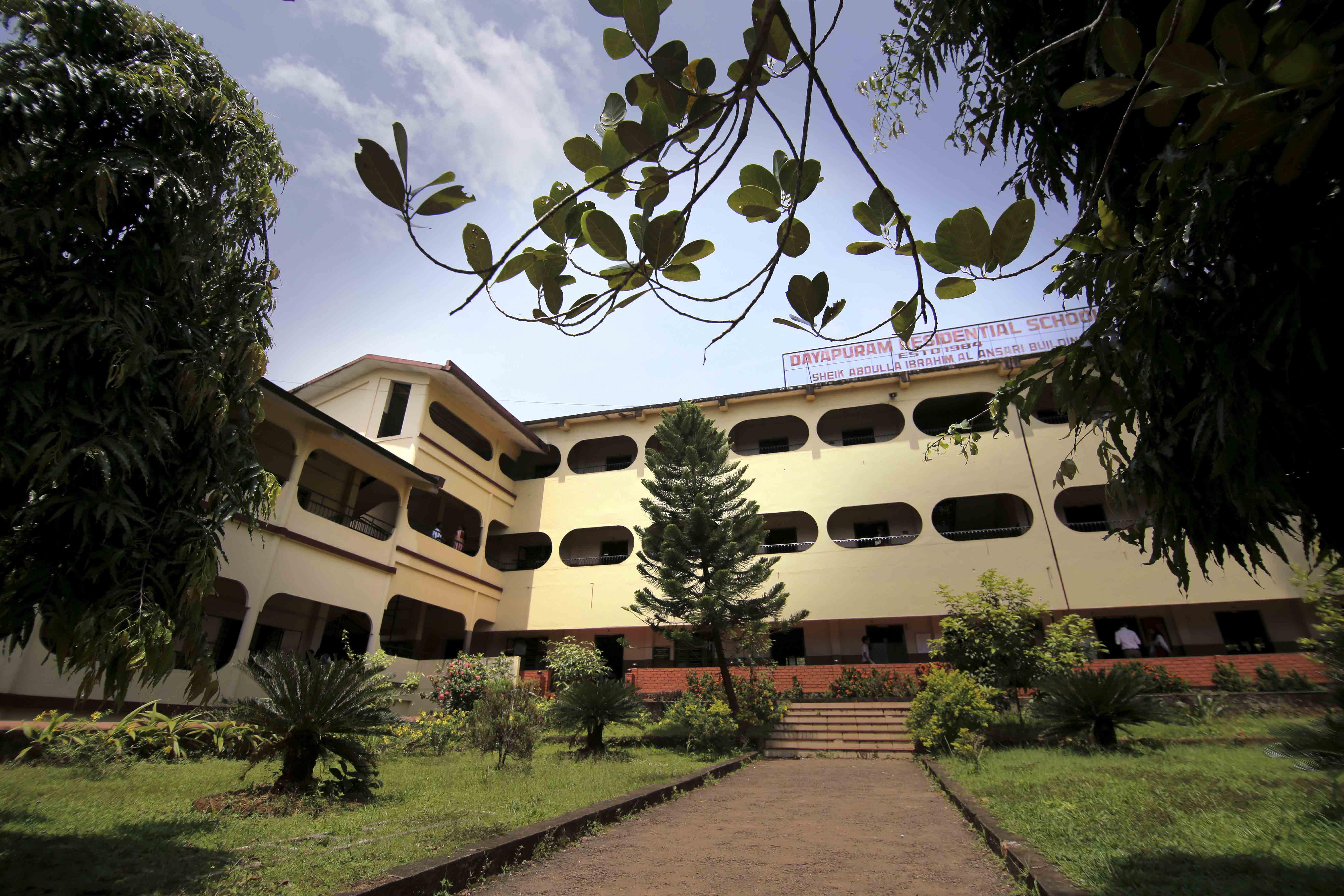 DAYAPURAM RESIDENTIAL SCHOOL R E COLLEGE P O KOZHIKODE KERALA 930044