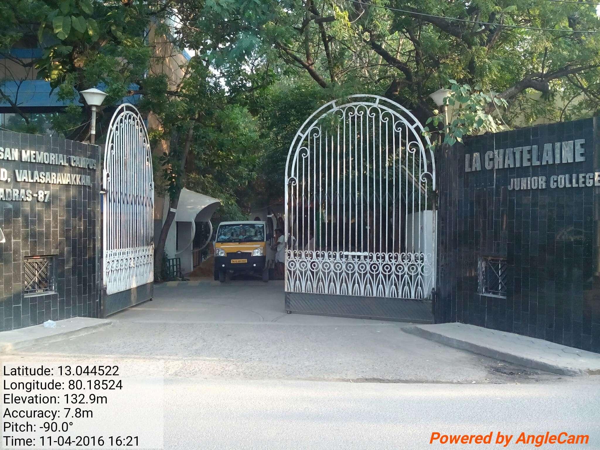 LA CHATALINE RESIDENTIAL JR COLLEGE NO 1 ARCOT ROAD VALASARAVAKKAM CHENNAI TAMIL NADU 1930018