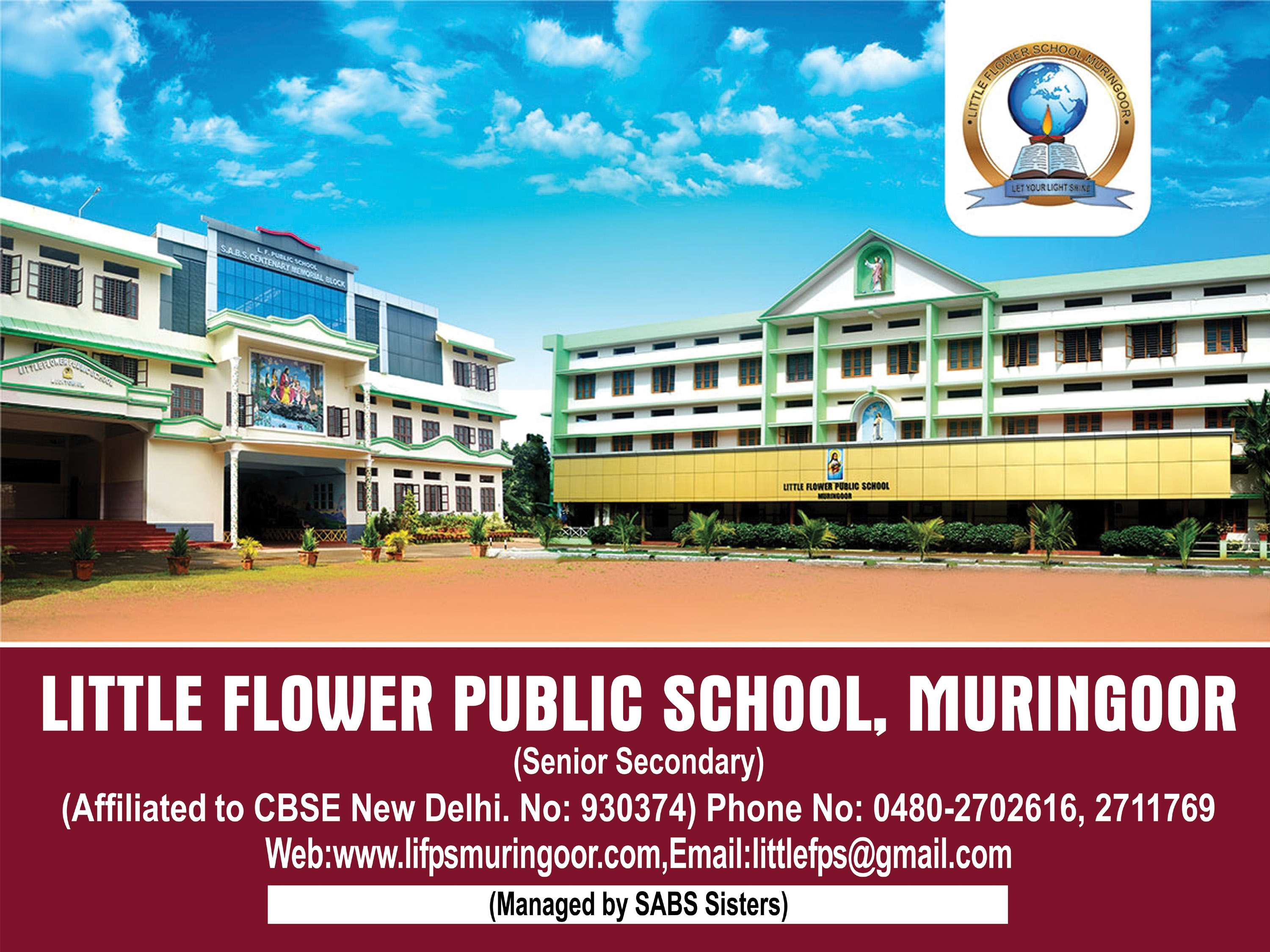 LITTLE FLOWER PUB SCHOOL MURINGOOR KORATTY DISTT THRISSUR KERALA 930374
