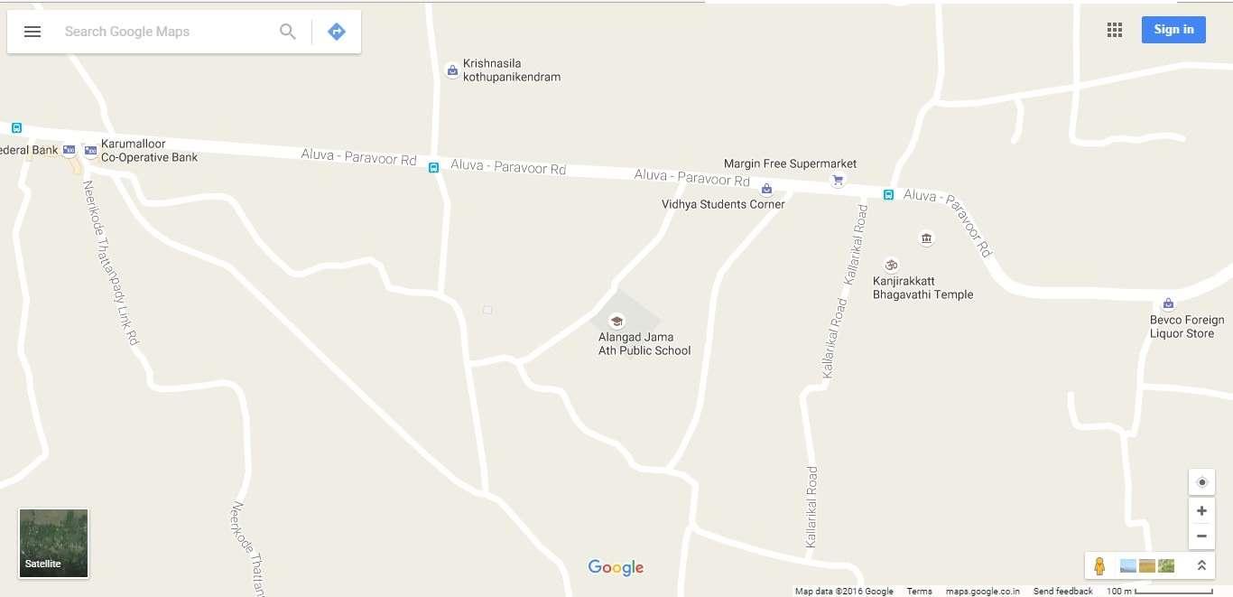 ALANGAD JAMA ATH PUBLIC SCHOOL KARUMALLOOR PO ERNAKULAM KERALA 930441