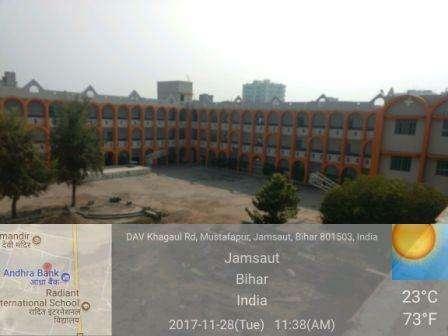 DAV PUBLIC SCHOOL CANTT ROAD KHAGAUL CAMPUS PATNA BIHAR 330018