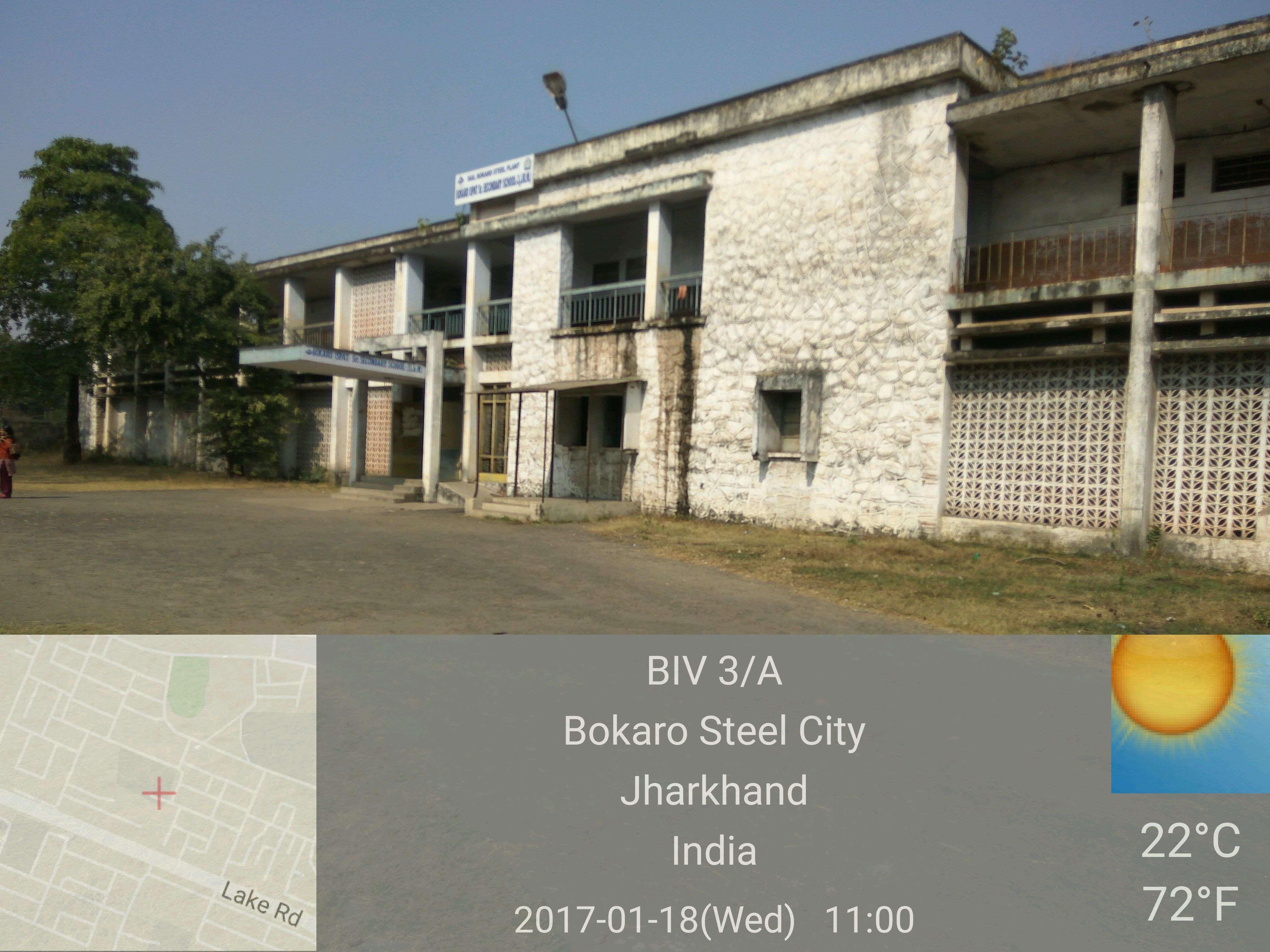 BOKARO ISPAT VIDYALAYA SECTOR III A BOKARO STEEL CITY JHARKHAND 3430062