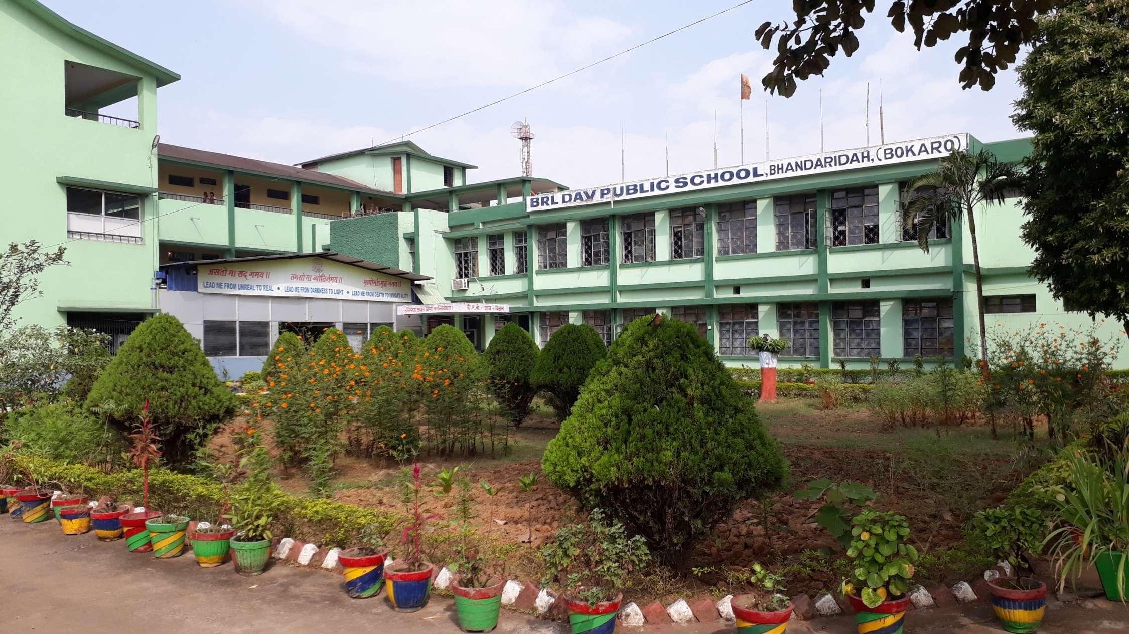 BRL DAV PUBLIC SCHOOL BHANDARIDAH DISTT BOKARO JHARKHAND - The