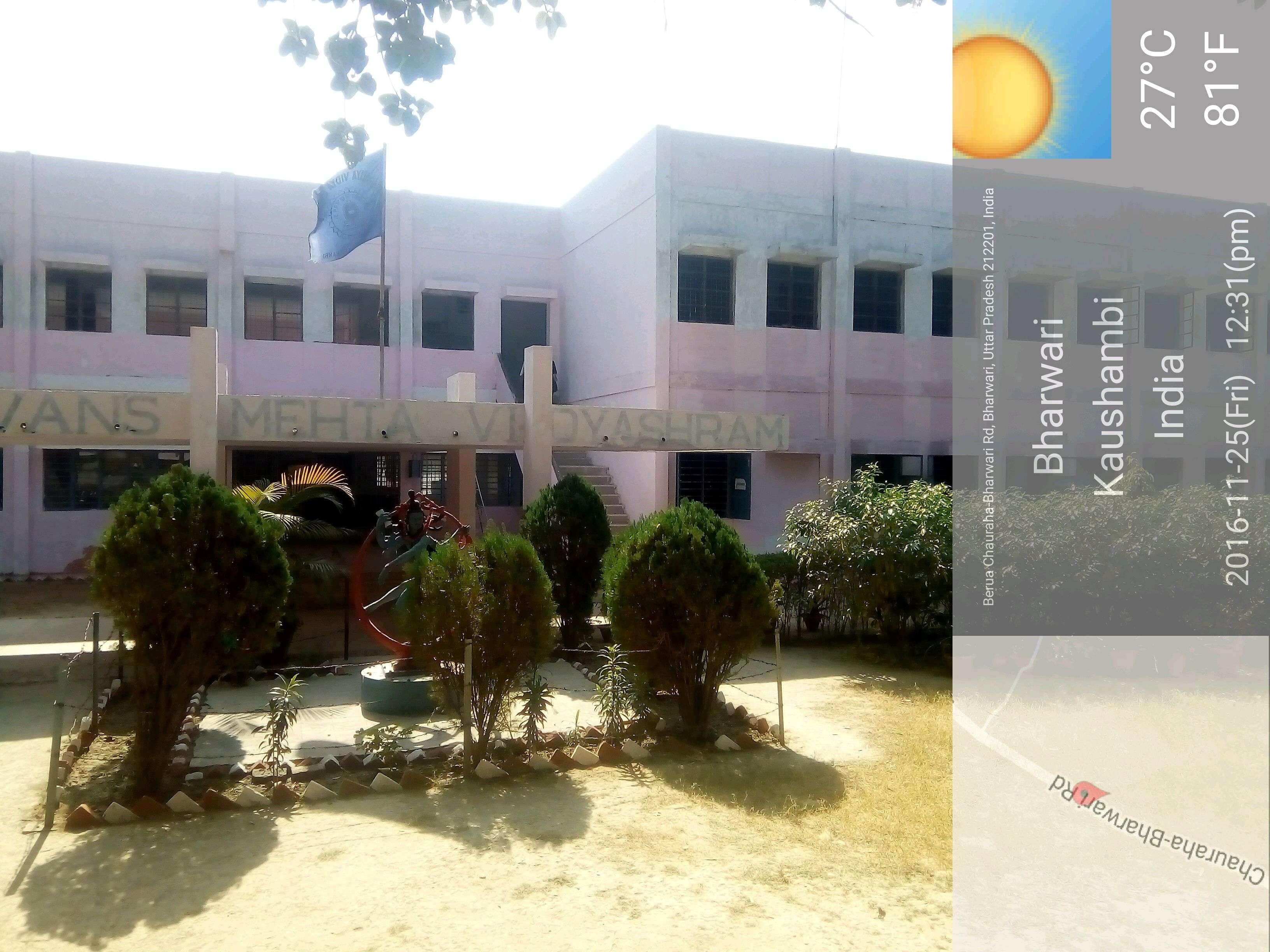 BHAVAN S MEHTA VIDYASHRAM BHARWARI KAUSHAMBI DISTT UTTAR PRADESH 2130014