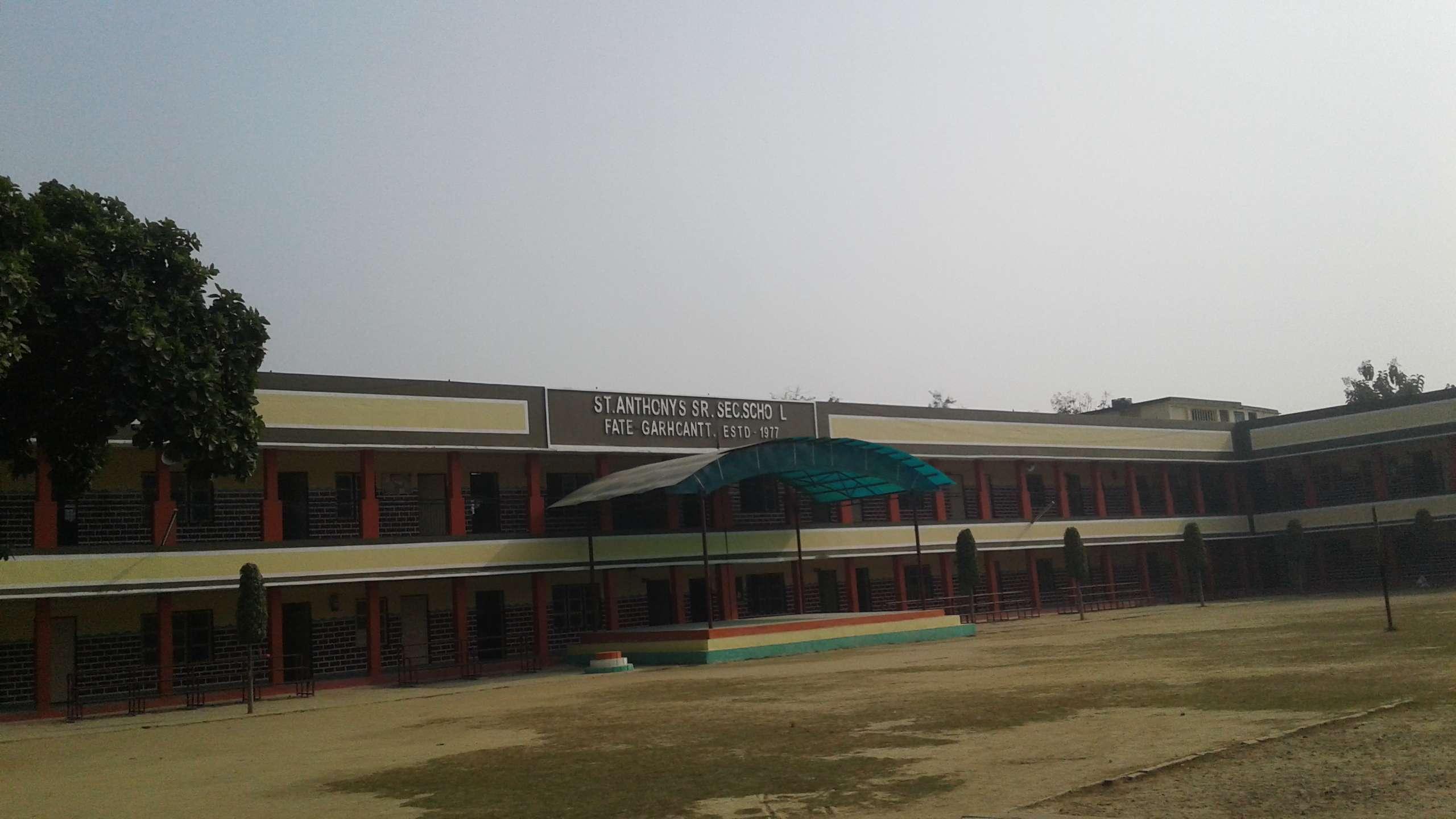 ST  ANTHONY'S SR SEC SCHOOL FATEHGARH CANTT UTTAR PRADESH - The