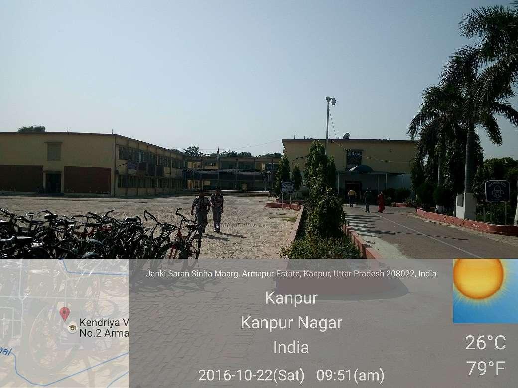 KENDRIYA VIDYALAYA NO 2 ARMAPUR KANPUR UTTAR PRADESH 2100077