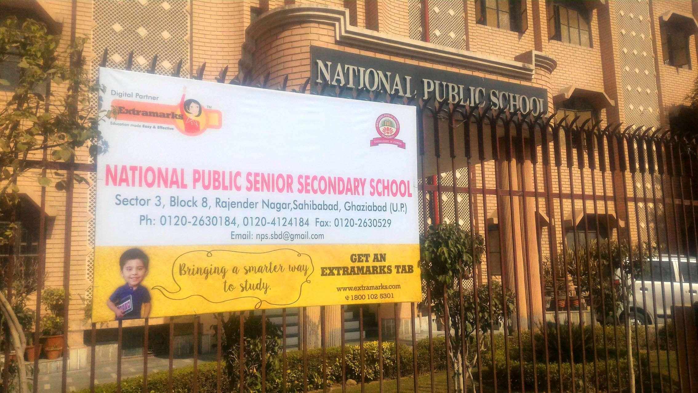 NATIONAL PUBLIC SCHOOL SECTOR III BLOCK 8 RAJENDRA NAGAR SAHIBABAD GHAZIABAD UTTAR PRADESH 2130202