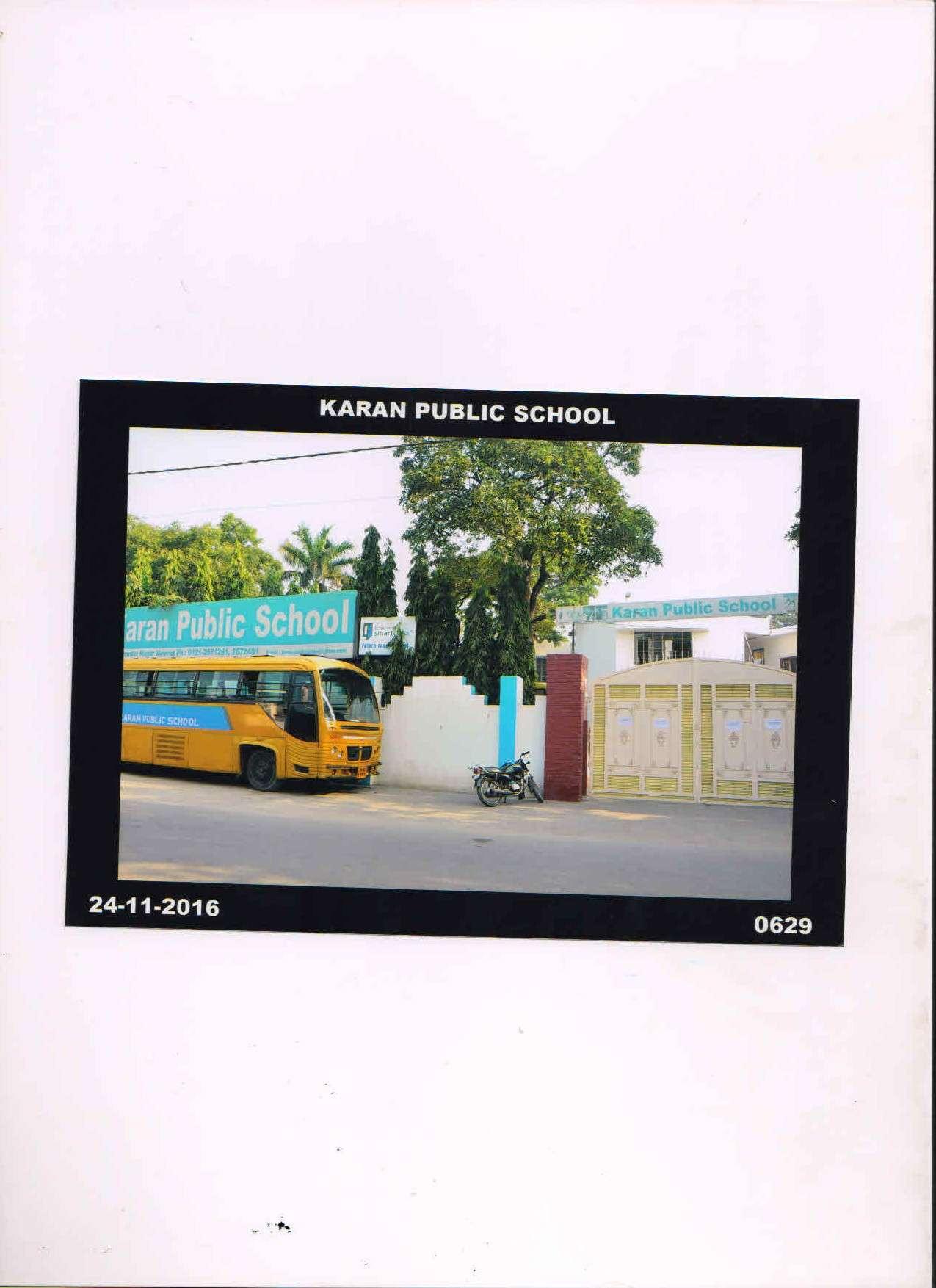 KARAN PUBLIC SCHOOL 261 PANDAV NAGAR MEERUT UTTAR PRADESH 2130285