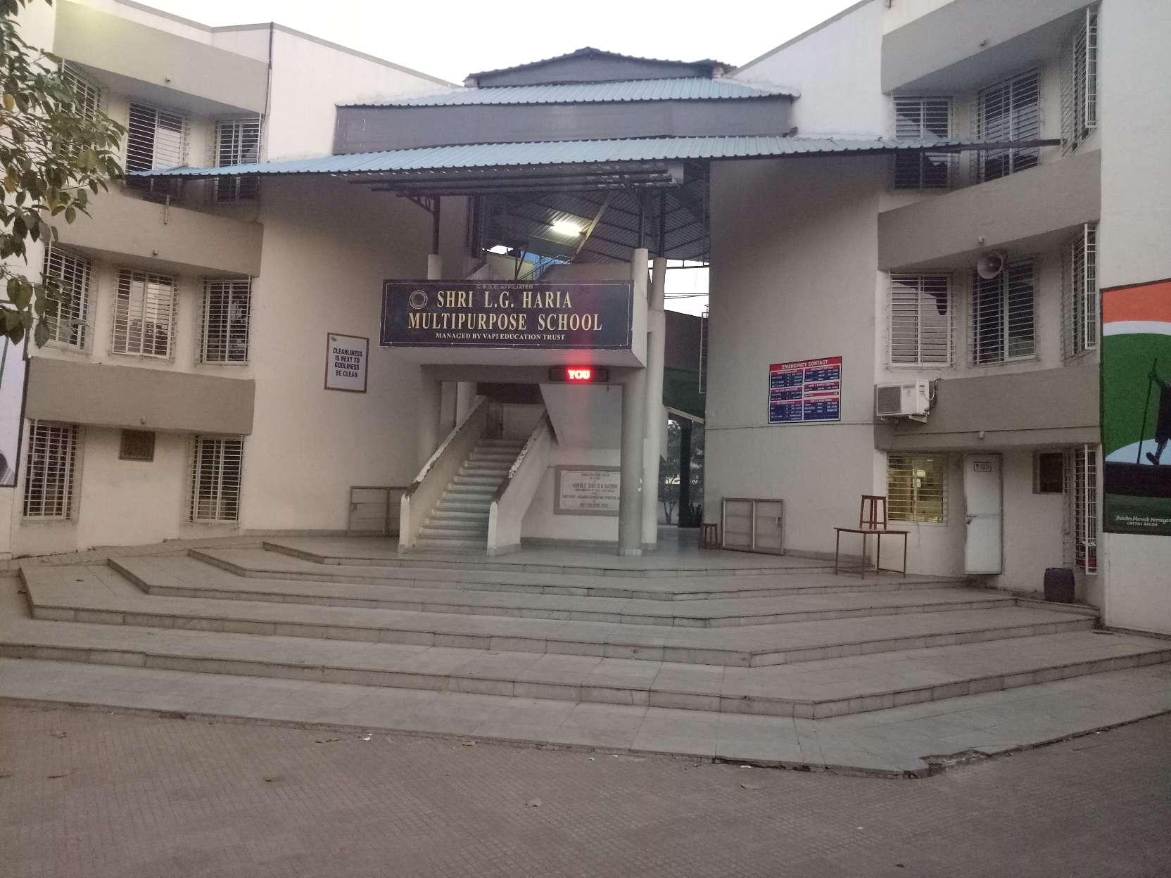 Shri L G Haria Multipurpose School Haria Park Silvassa Road Dungra Via Vapi 396 195 430134