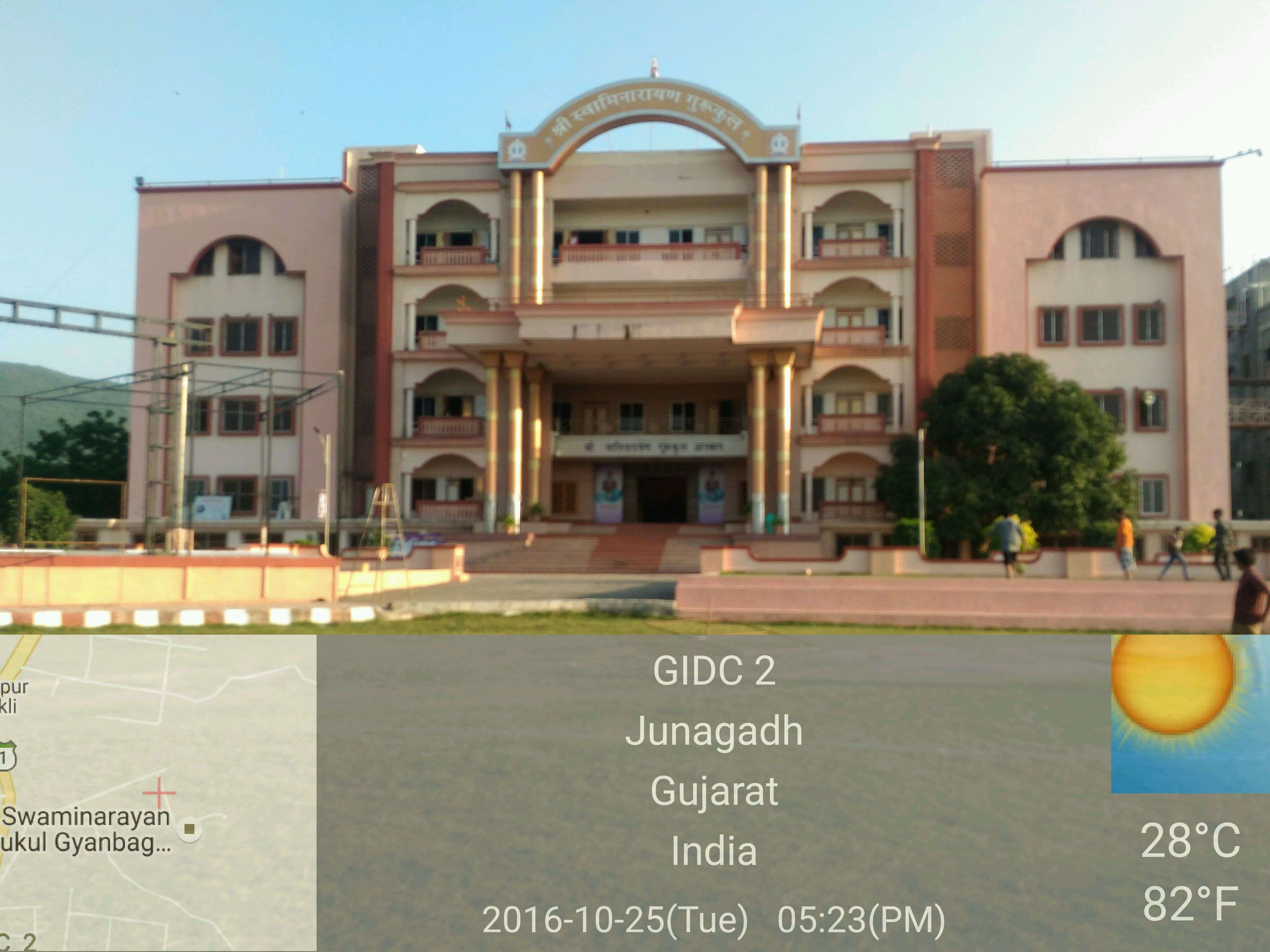 Shree Swaminarayan Gurukul Gyanbag International School Rajkot highway Nr Gyanbag circle Junagadh 430176