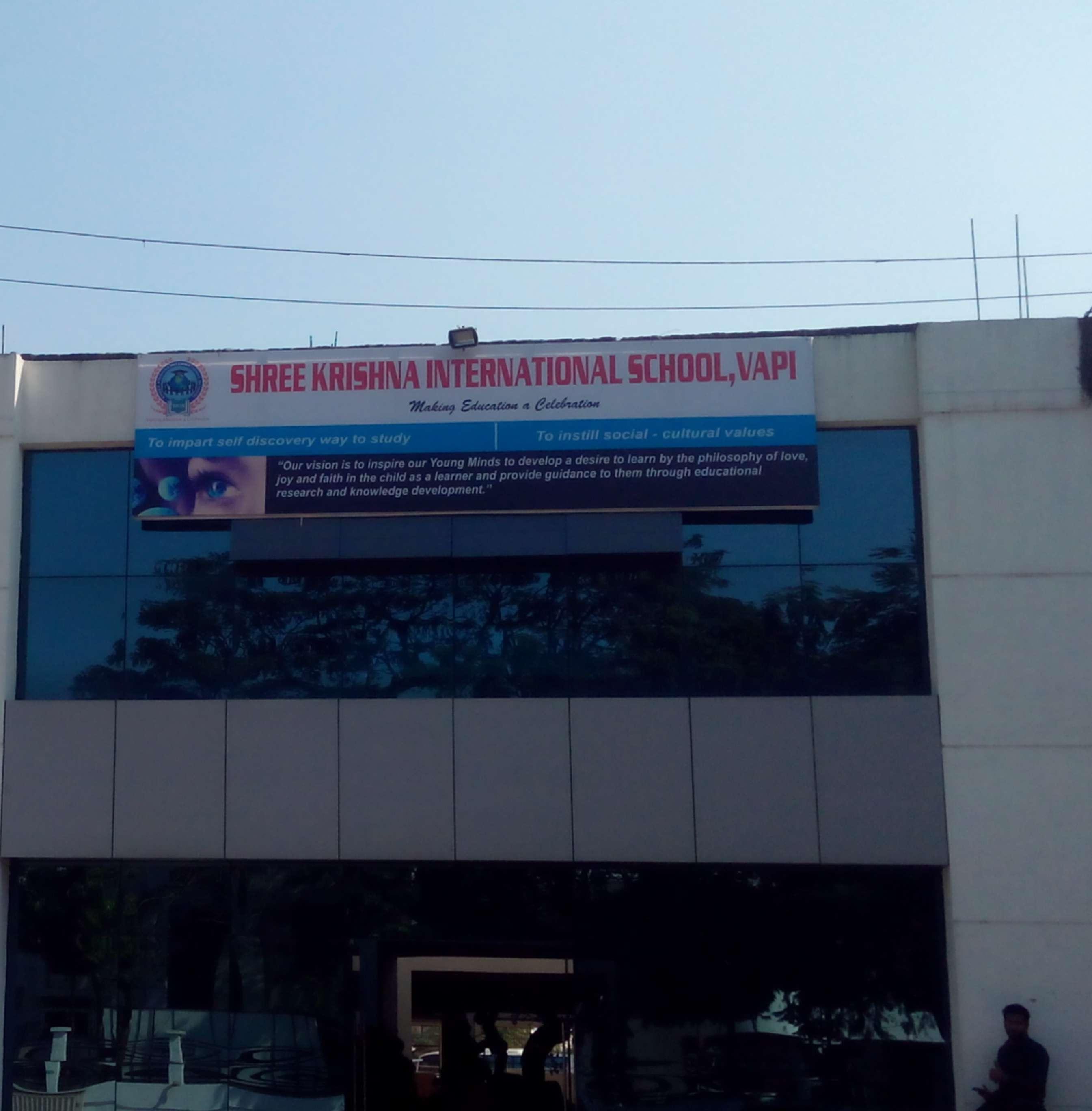 shree krishna international School plot no b13 14 charwada road vapi 430194