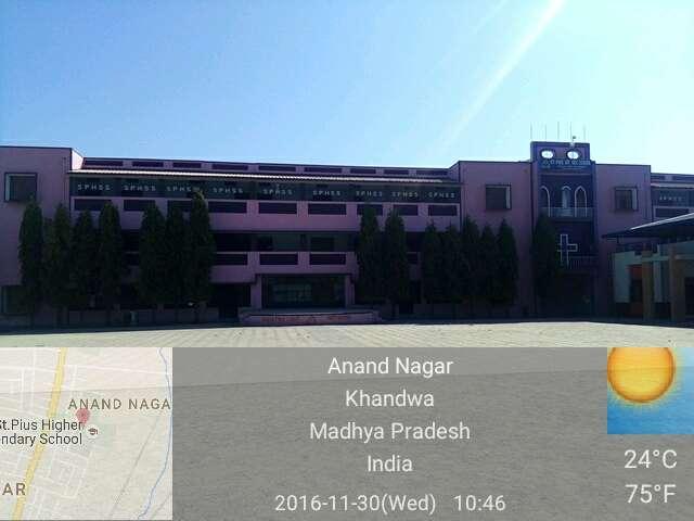 St Pius Hr Sec School St Pius Hr Sec SchoolAnand Nagar Khandwa 1030443