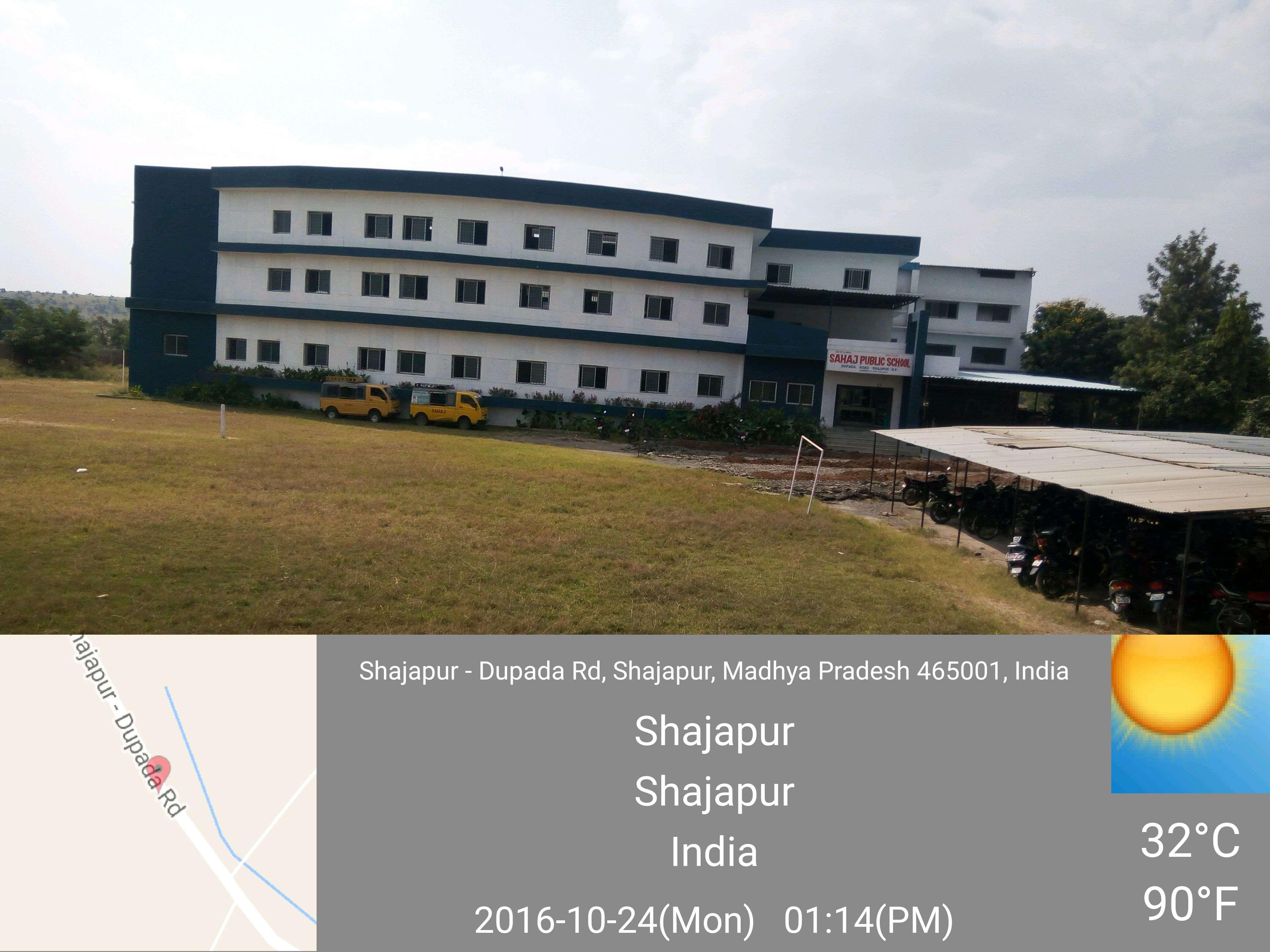 SAHAJ PUBLIC SCHOOL Dupada Road Village Girvar Shajapur MP 1030486