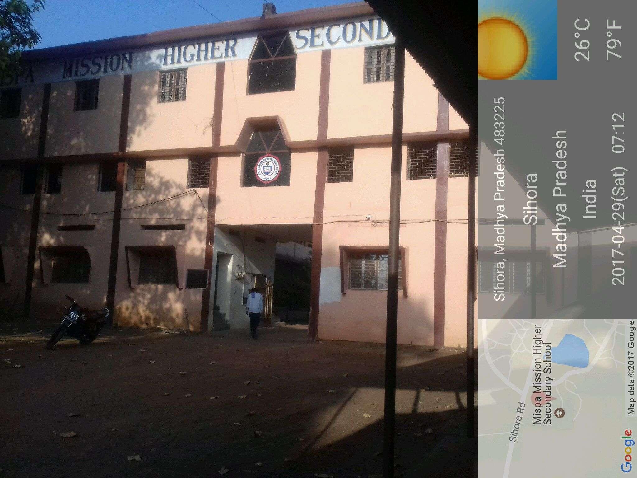Mispa Mission Higher Secondary School Sihora Ward no 8 Sihora Dist Jabalpur M P 483 225 1030520