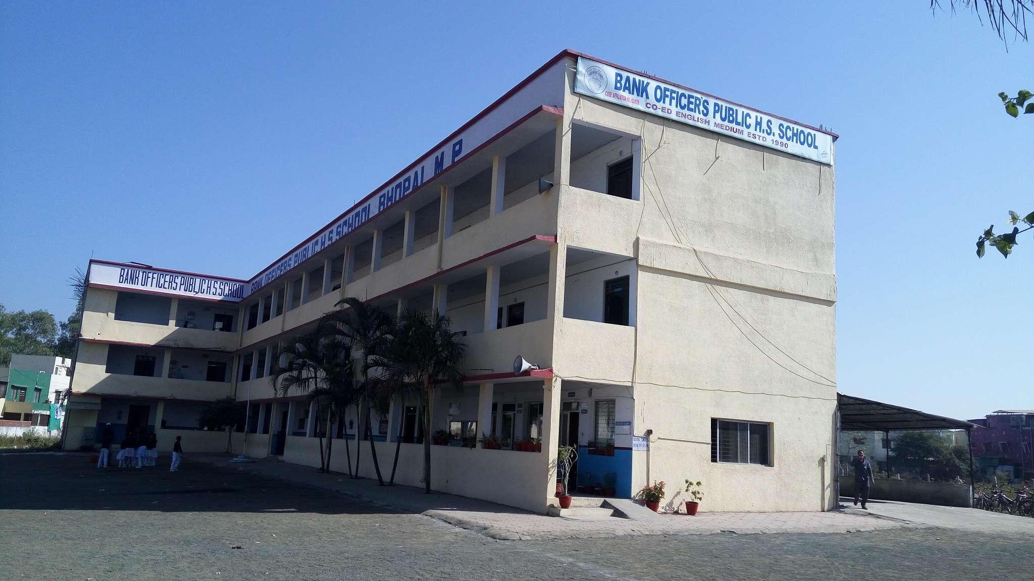 BANK OFFICERS PUBLIC H S SCHOOL BHOPAL MADHYA PRADESH 1030678