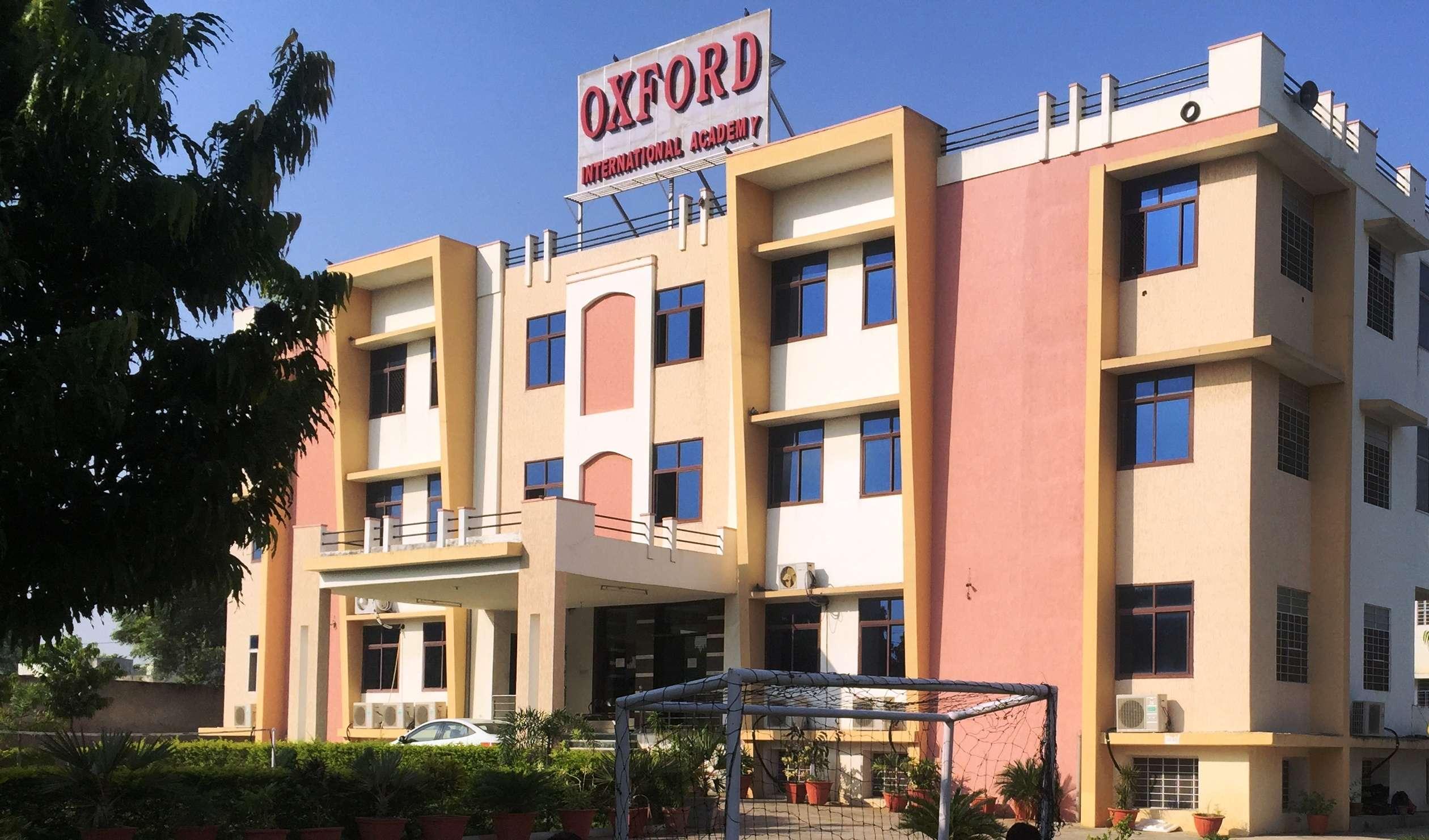 Oxford International Academy Shankar Vihar Maharana Pratap Marg Near Karani Palace Vaishali Nagar Jaipur 1730563