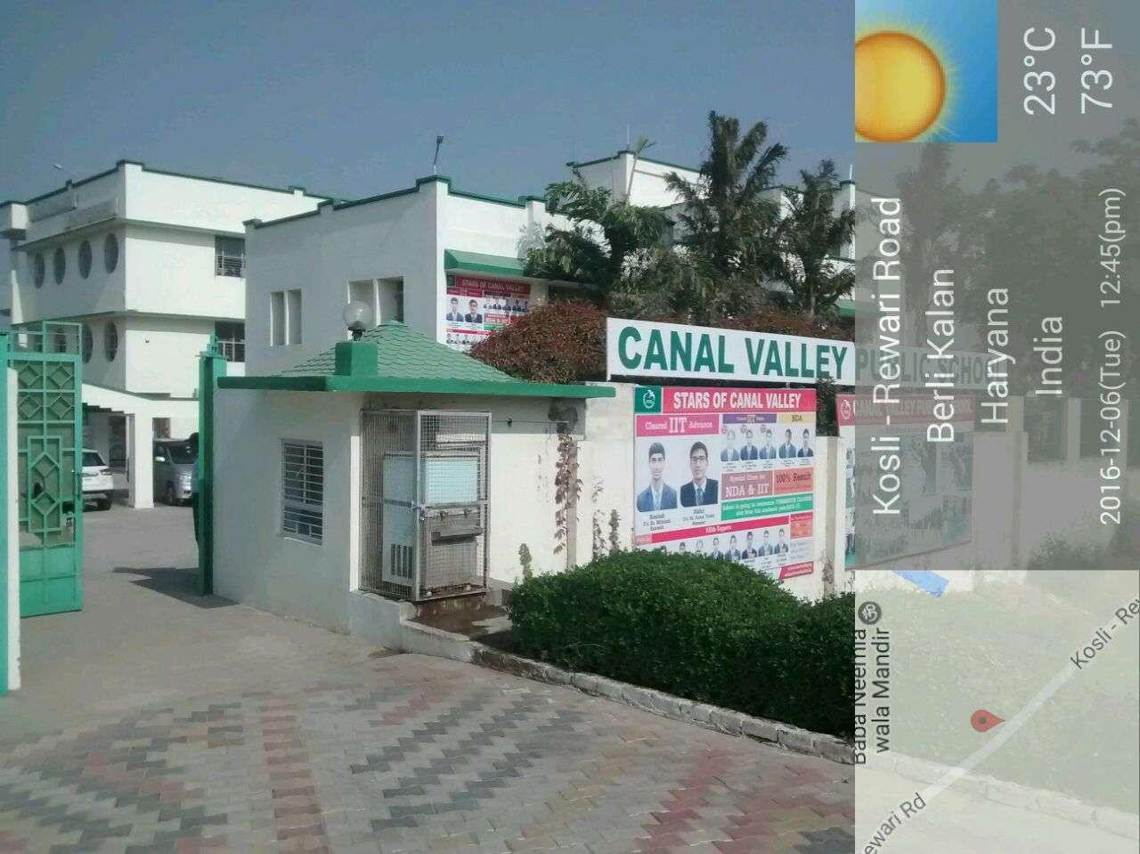 CANAL VALLEY PUBLIC SCHOOL BERLI KHURD DISTT REWARI HARYANA 530506