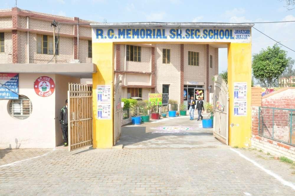 R C MEMORIAL SR SEC SCHOOL MAJRA JAHAJGARH TEH BERI DISTT JHAJJAR HARYANA 530505