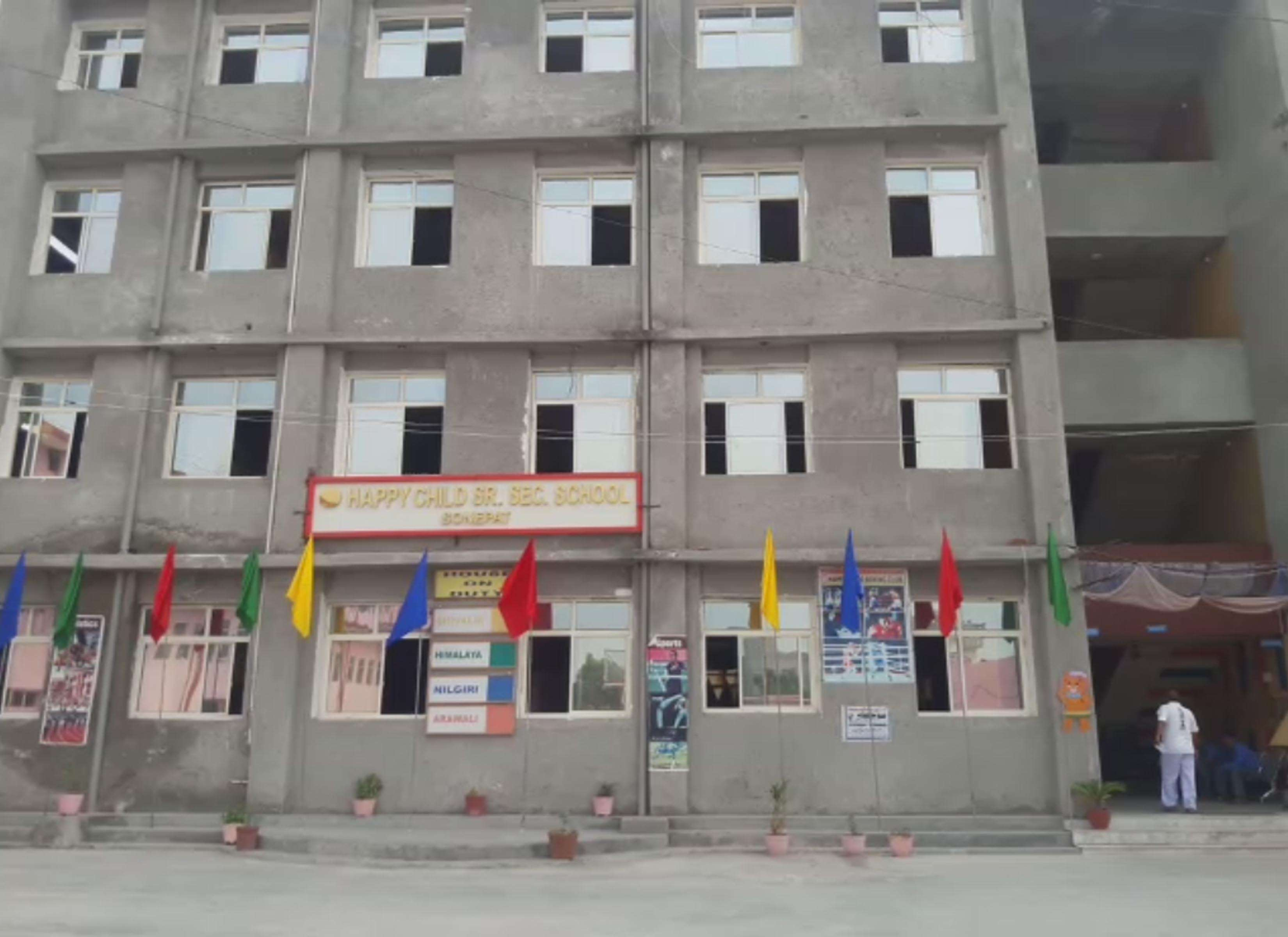 HAPPY CHILD HIGH SCHOOL GARHI BRAHAMNAN MAHALANA ROAD SONIPAT HARYANA 530514