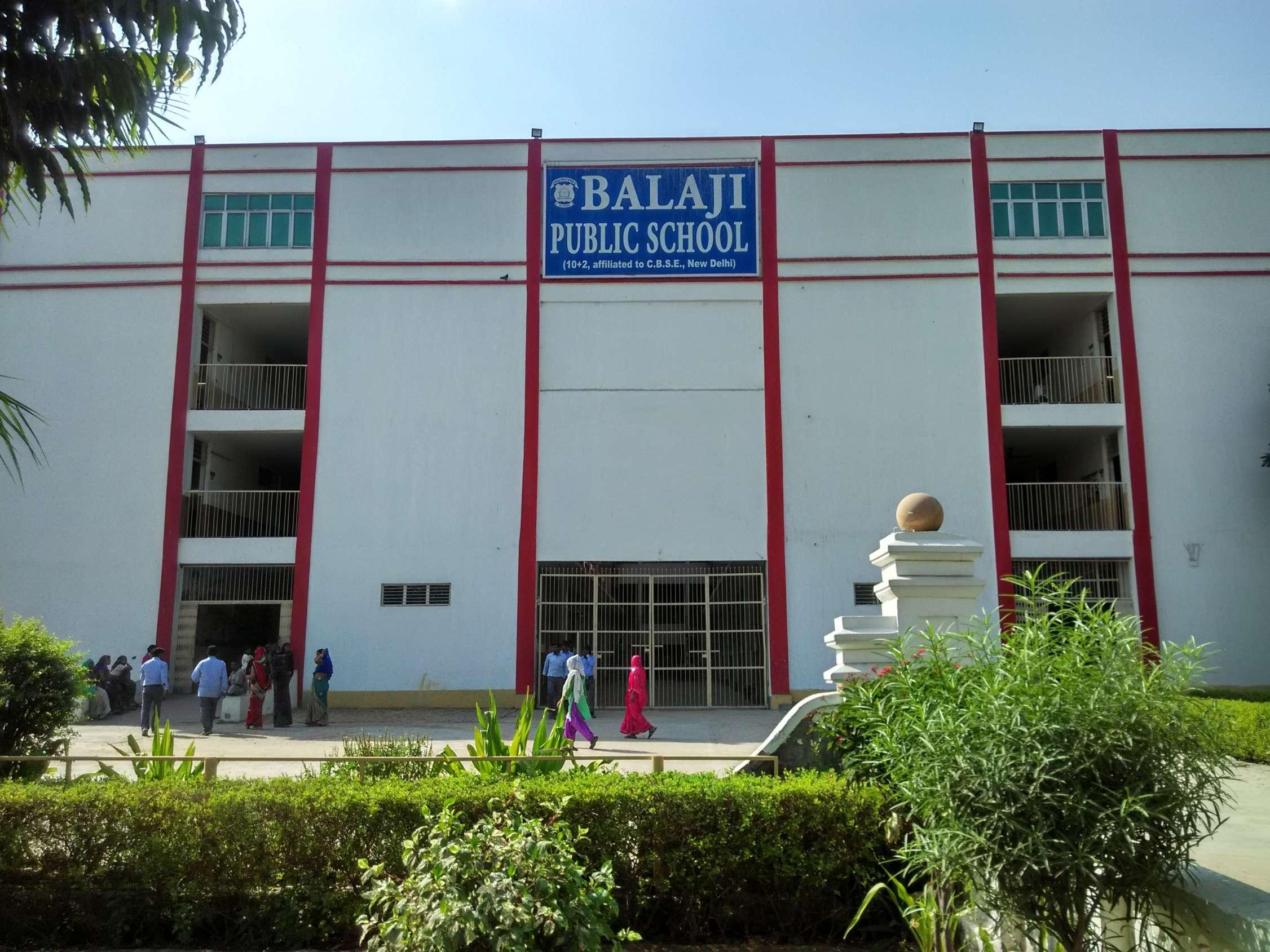 BALAJI PUBLIC SCHOOL MALENA ROAD ADARSH NAGAR BALLABHGARH HARYANA 530516