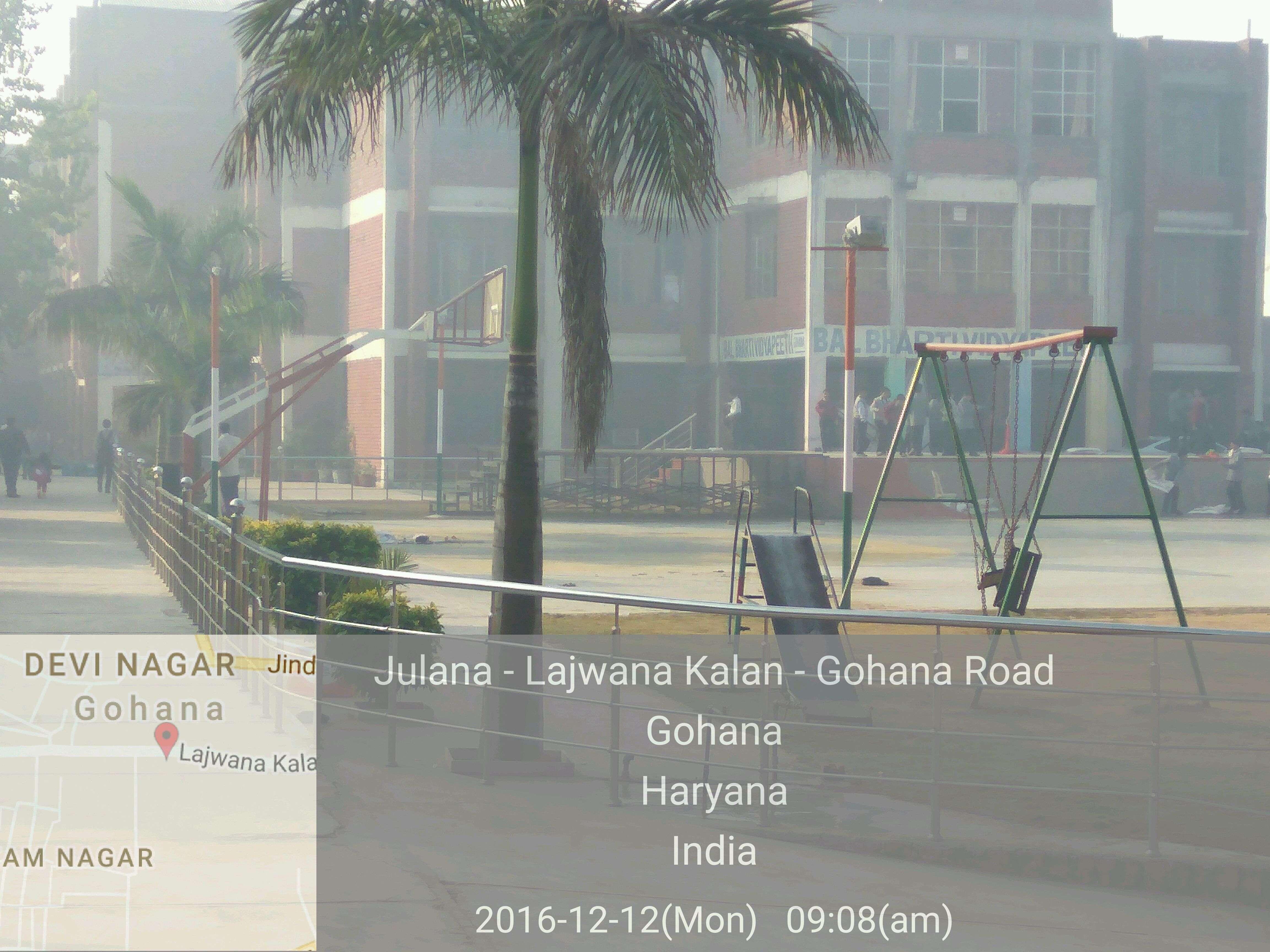 BAL BHARTI VIDYA PEETH OPP CIVIL HOSPITAL BARODA ROAD GOHANA HARYANA 530576