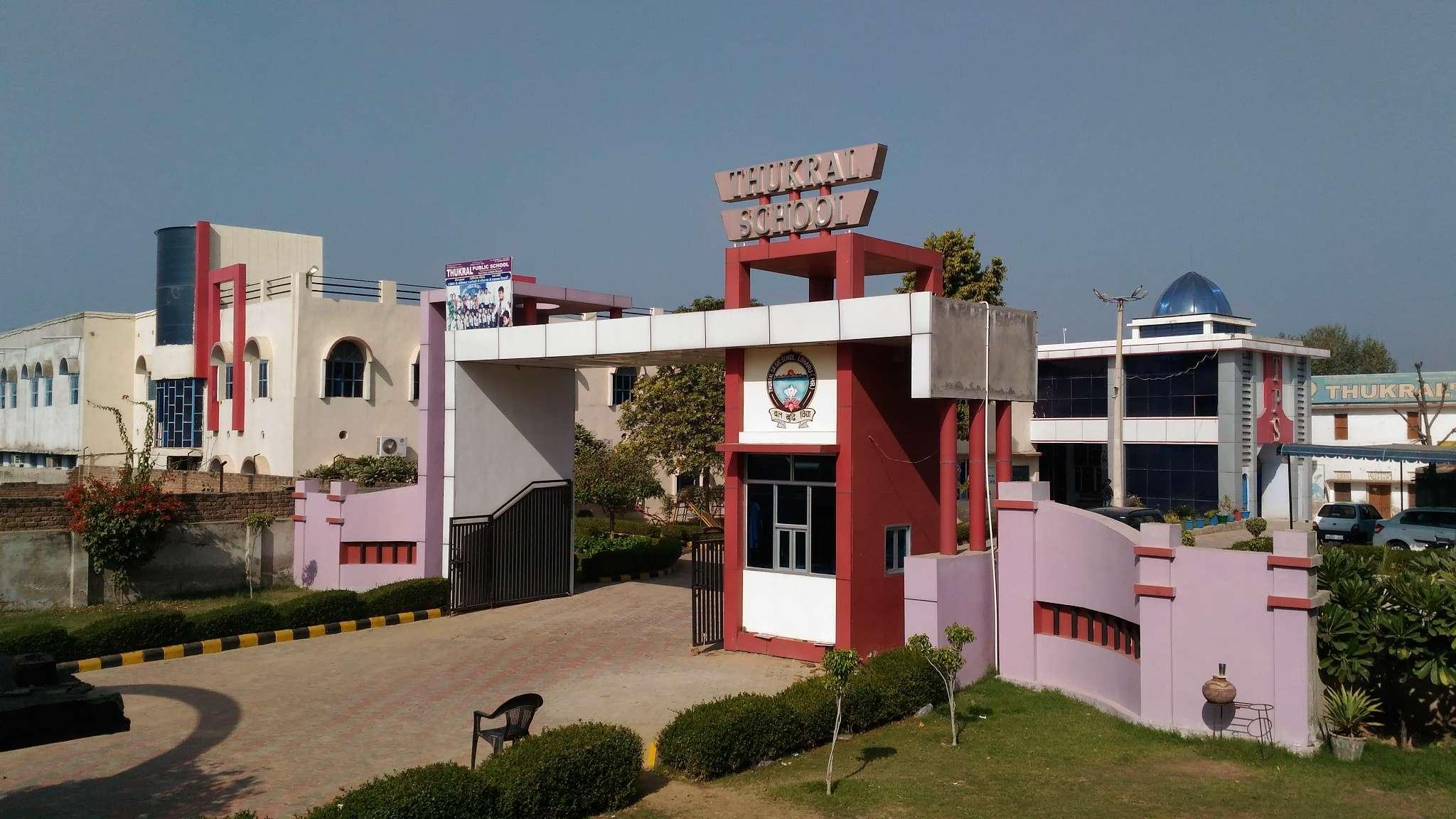 THUKRAL PUBLIC SR SEC SCHOOL Thukral Public Sr Sec School Pilani Road Loharu Bhiwani Haryana 530661