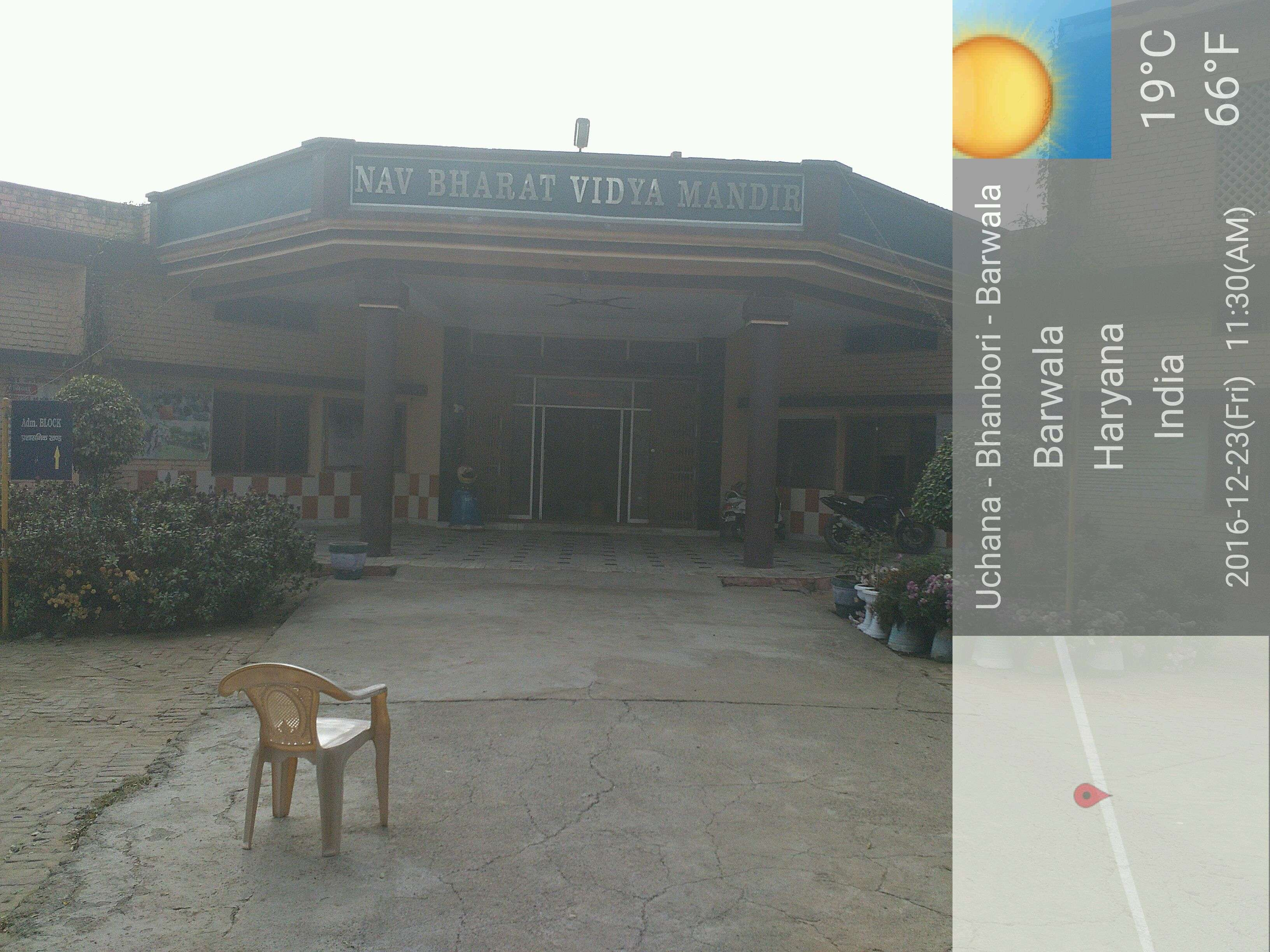NAV BHARAT VIDYA MANDIR Nav Bharat Vidya MandirBarwala Hissar 530764