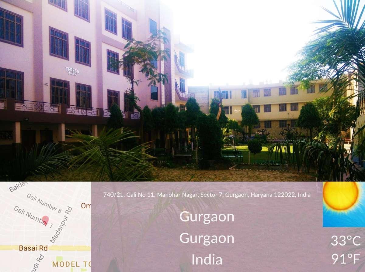 S D Memorial High School Madan Puri Gali No 11 Gurgaon 530854