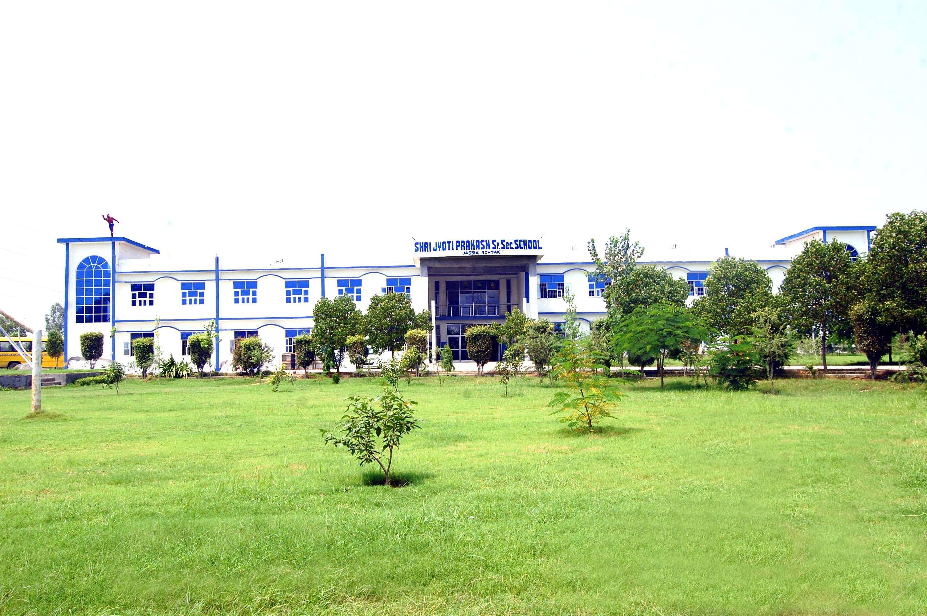 Shri Jyoti Prakash Senior Secondary School Jassia Rohtak Haryana V P O Jassia 530978