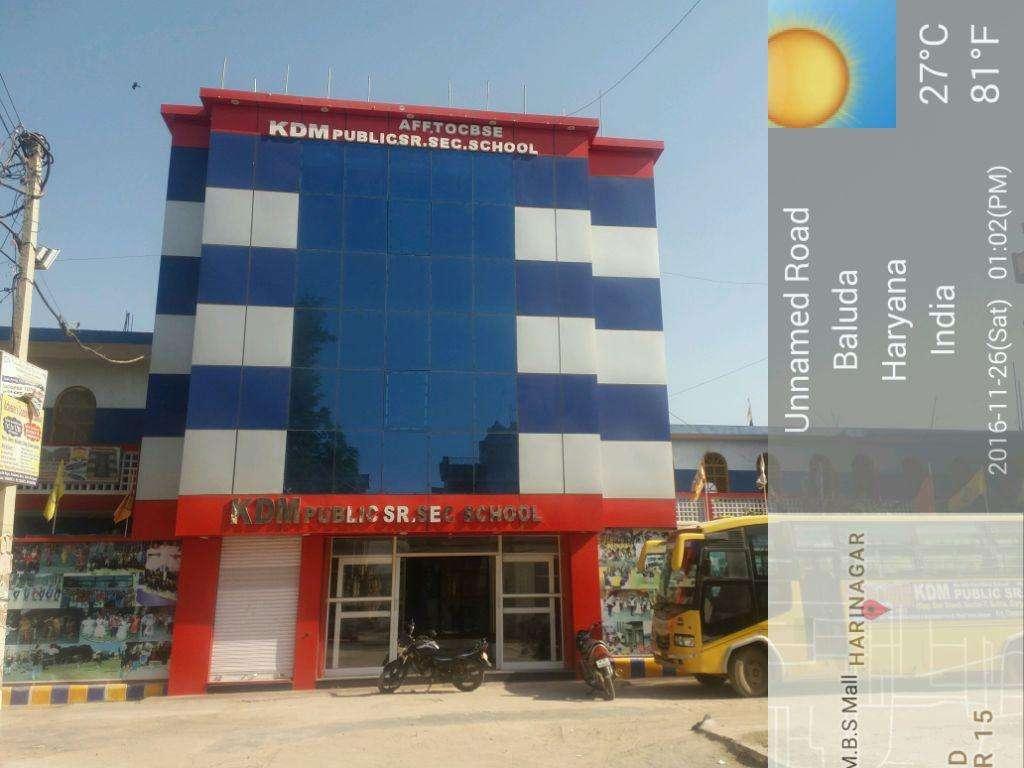 K D M PUBLIC SR SEC SCHOOL BALUDA ROAD SOHNA GURGAON 530980