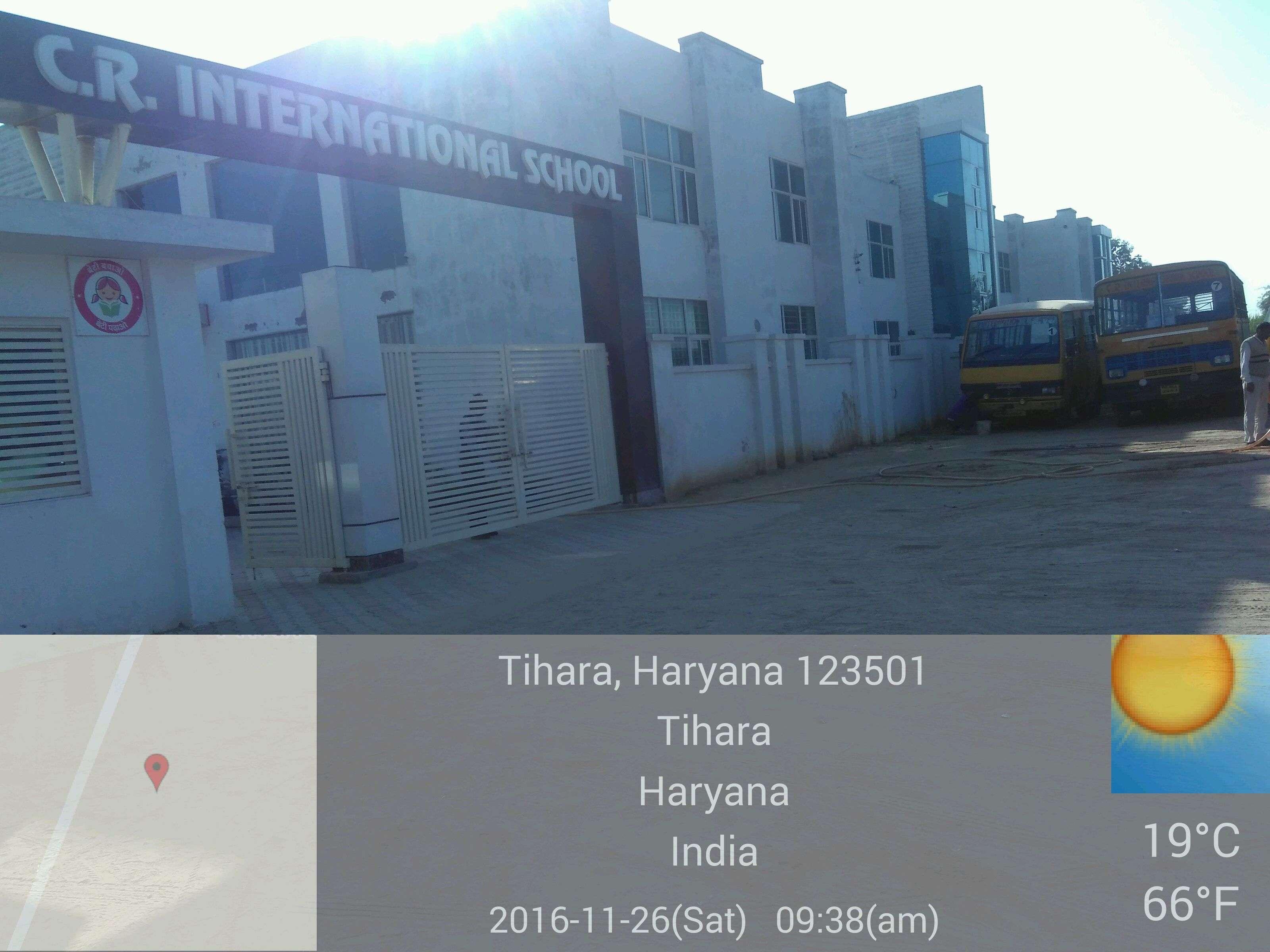 C R INTERNATIONAL SCHOOL VILLAGE TIHARA TEHSIL BAWAL DISTRICT REWARI HARYANA 530966