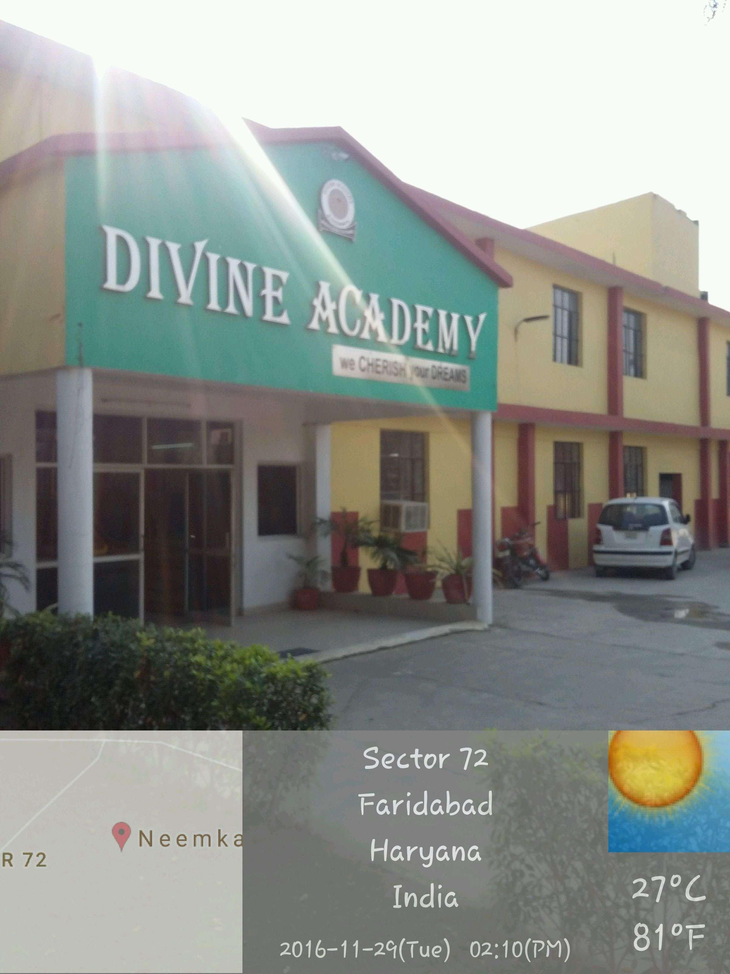 Divine Academy Navada More Tigaon Road Ballabgarh 530733
