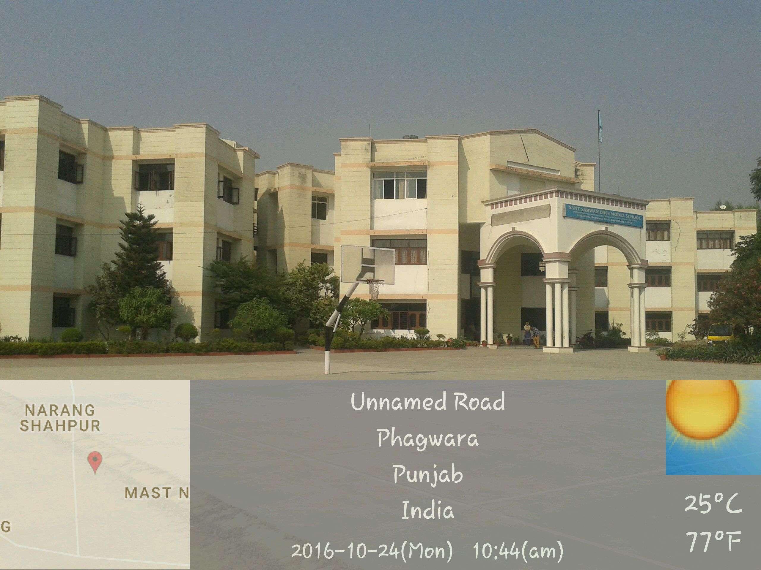 SANT SARWAN DASS MODEL SCHOOL HADIABAD PHAGWARA DISTT KAPURTHALA PUNJAB 1630321