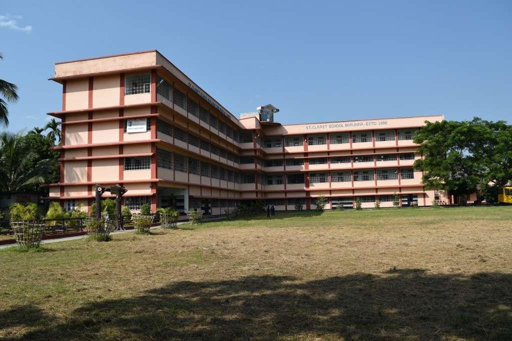 ST CLARET SCHOOL N H 37 BORJHAR PO GUWAHATI ASSAM 230056