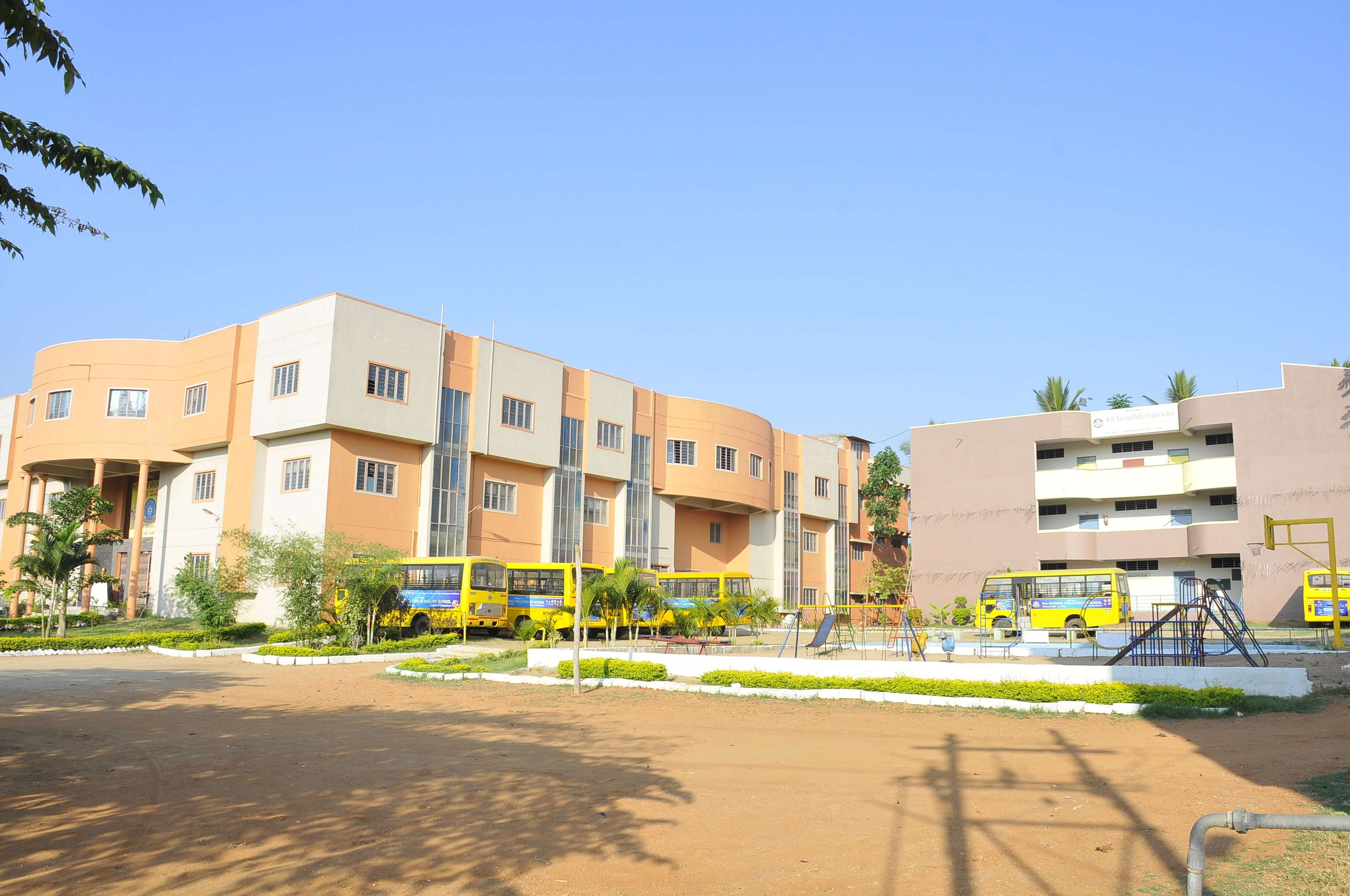 M H National Public English School B M Road Vivekananda Nagar Ramanagaram 830192
