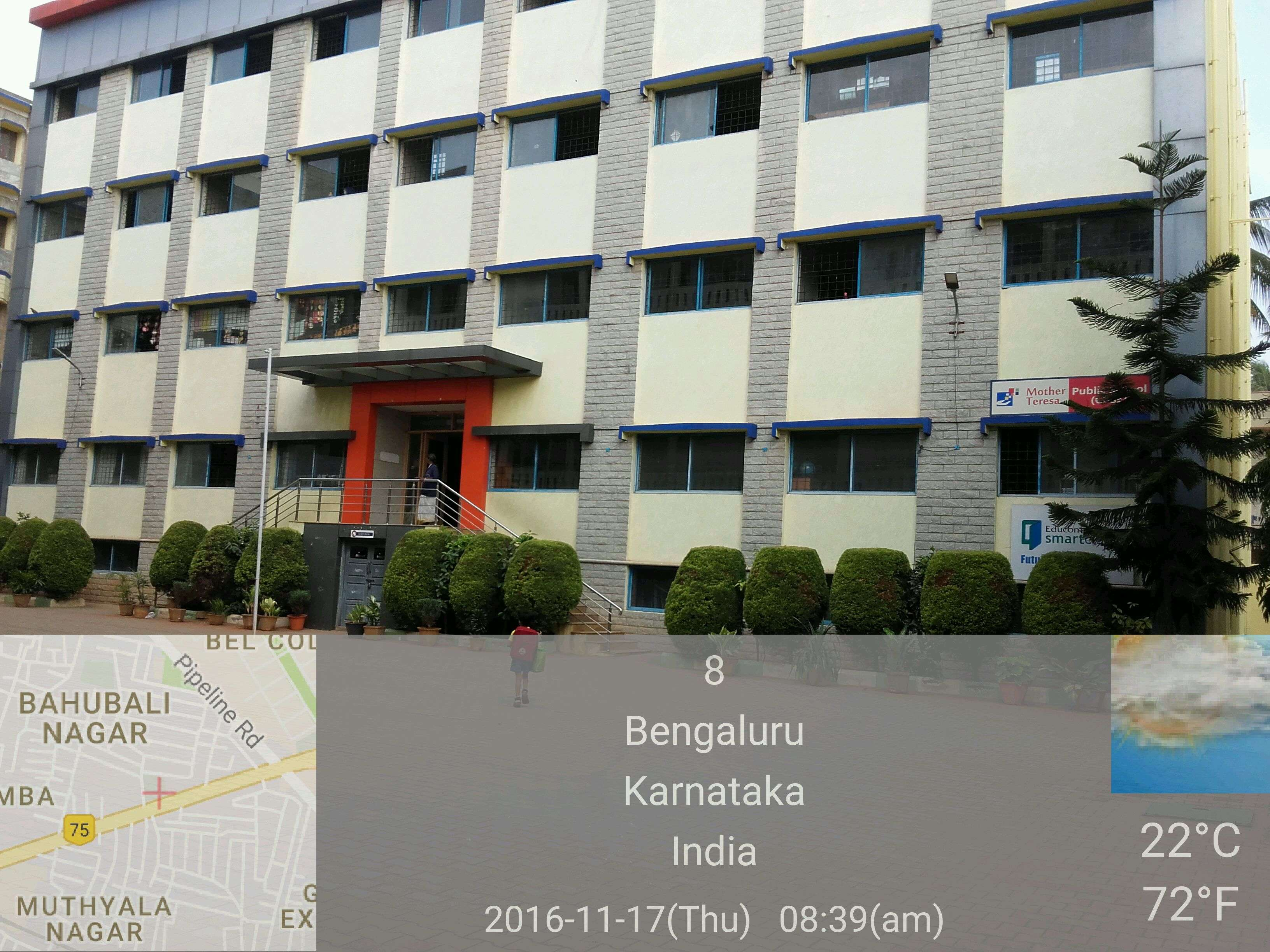 Mother Teresa School MES Ring Road, Jalahalli, Bangalore