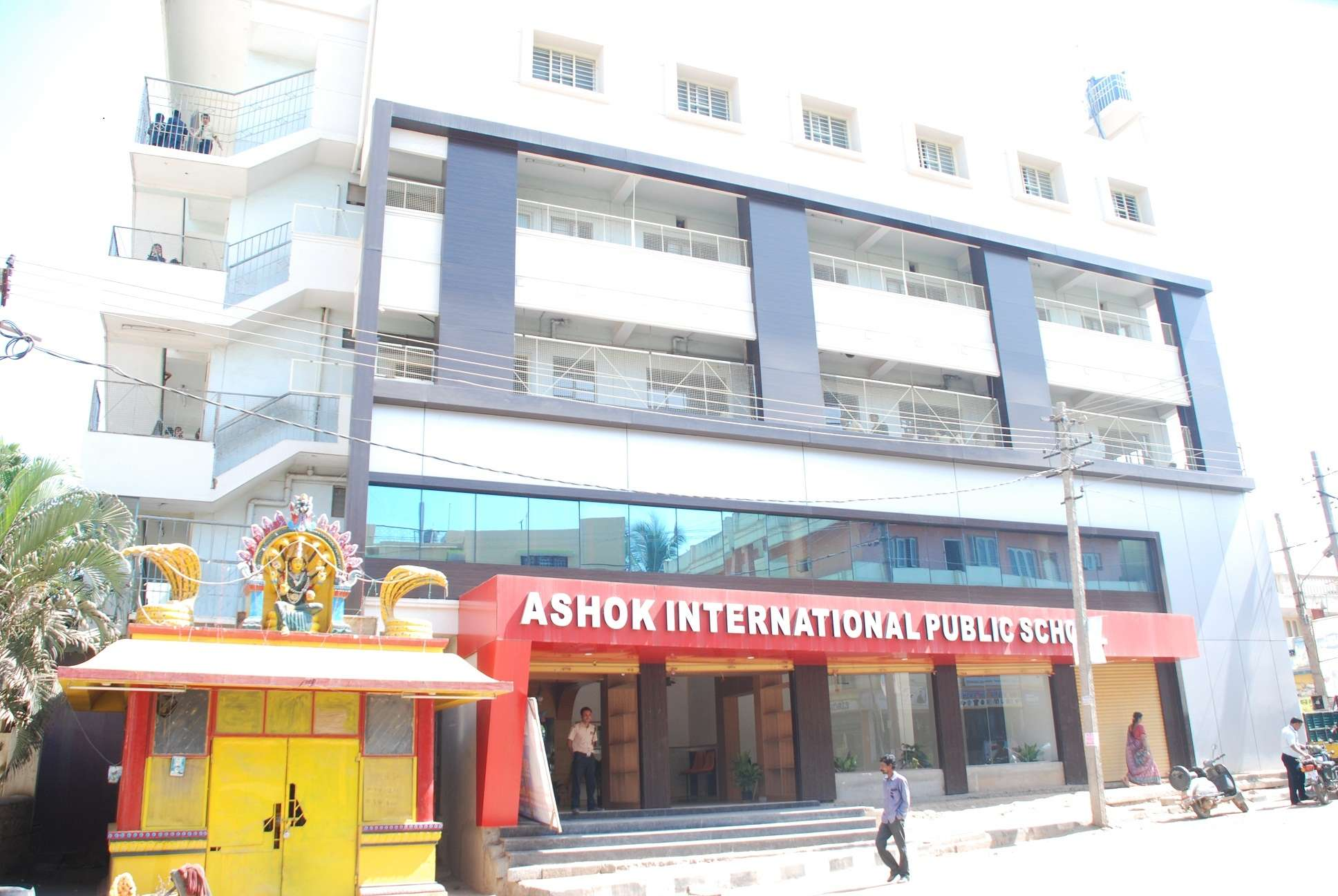 ASHOK INTERNATIONAL PUBLIC SCHOOL Vasanthappa Main Road Kammagondahalli Bangalore 560 015 830291