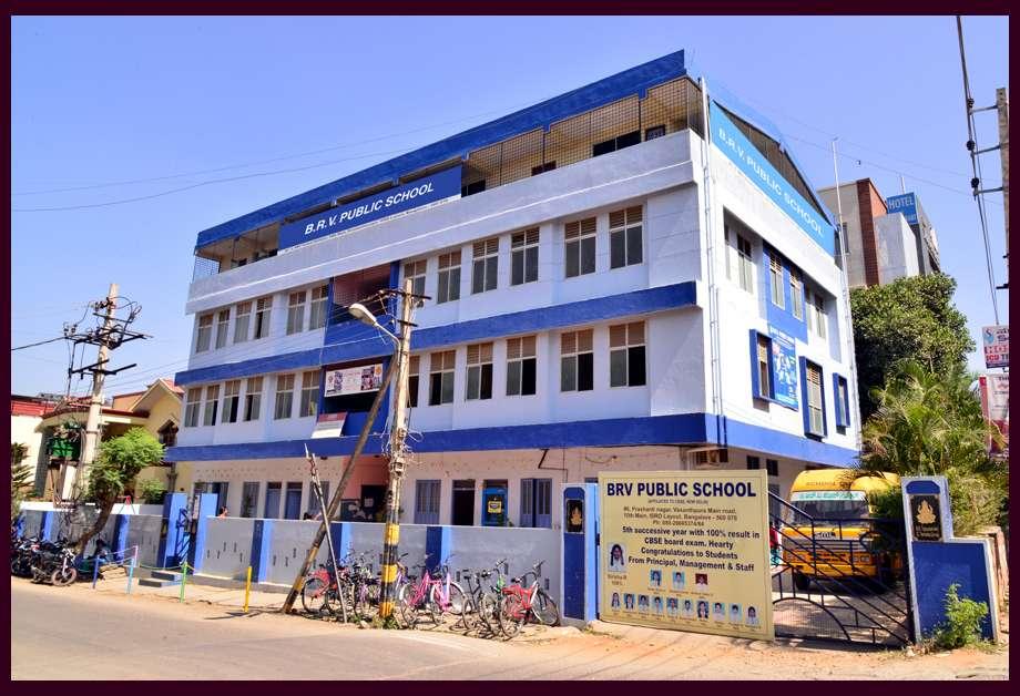 B R V Public School No 06 M S Linge Gowda Layout Prashanthinagar Vasanthapura Main Road 10th Cross Isro Layout Bangalore 560 061 830367