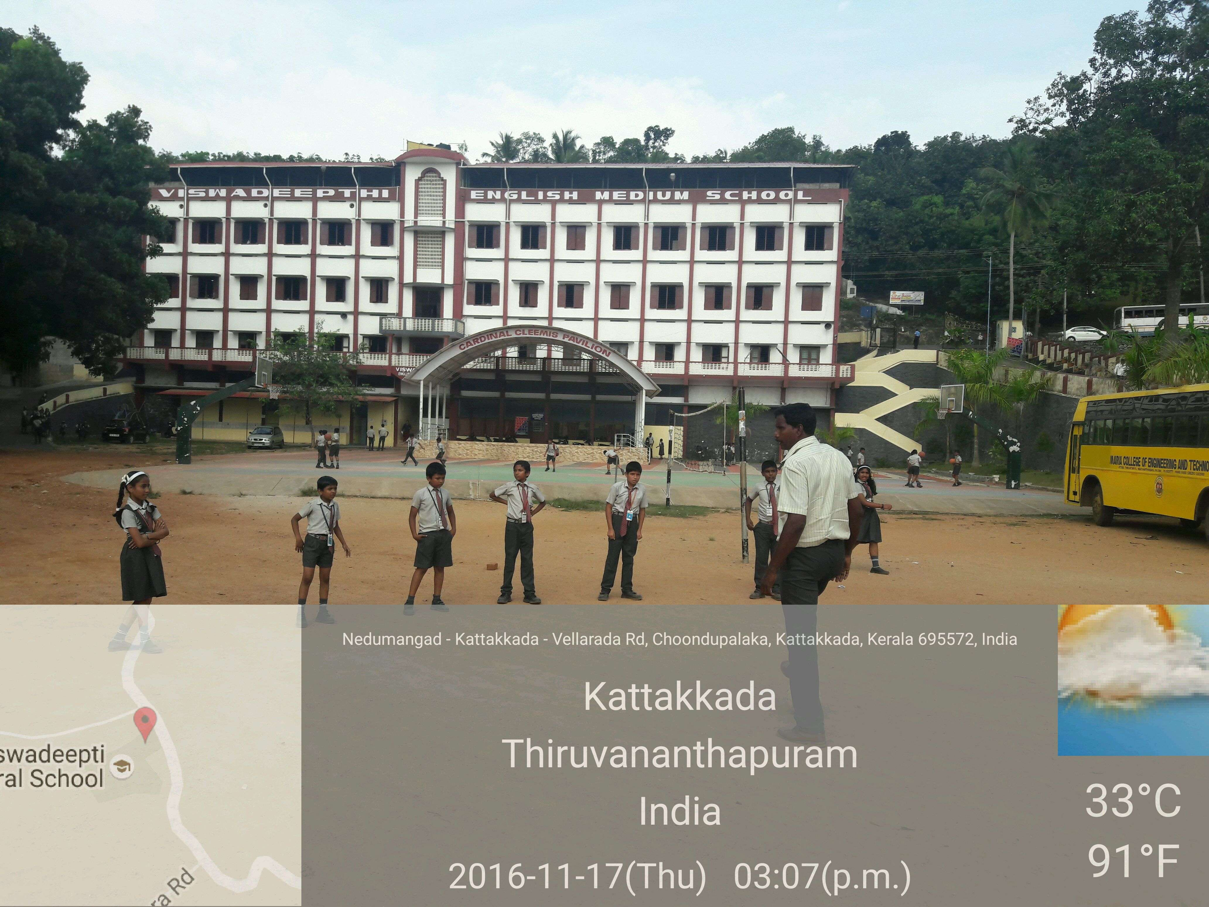 VISWADEEPTTI ENGLISH MEDIUM SCHOOL CHARUPARA KATTAKADA PO THIRUVANTHAPURAM KERALA 930536