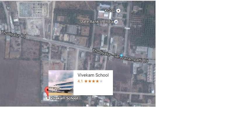 Vivekam School No 345 Thudiyalur RoadSaravanampatti 1930362